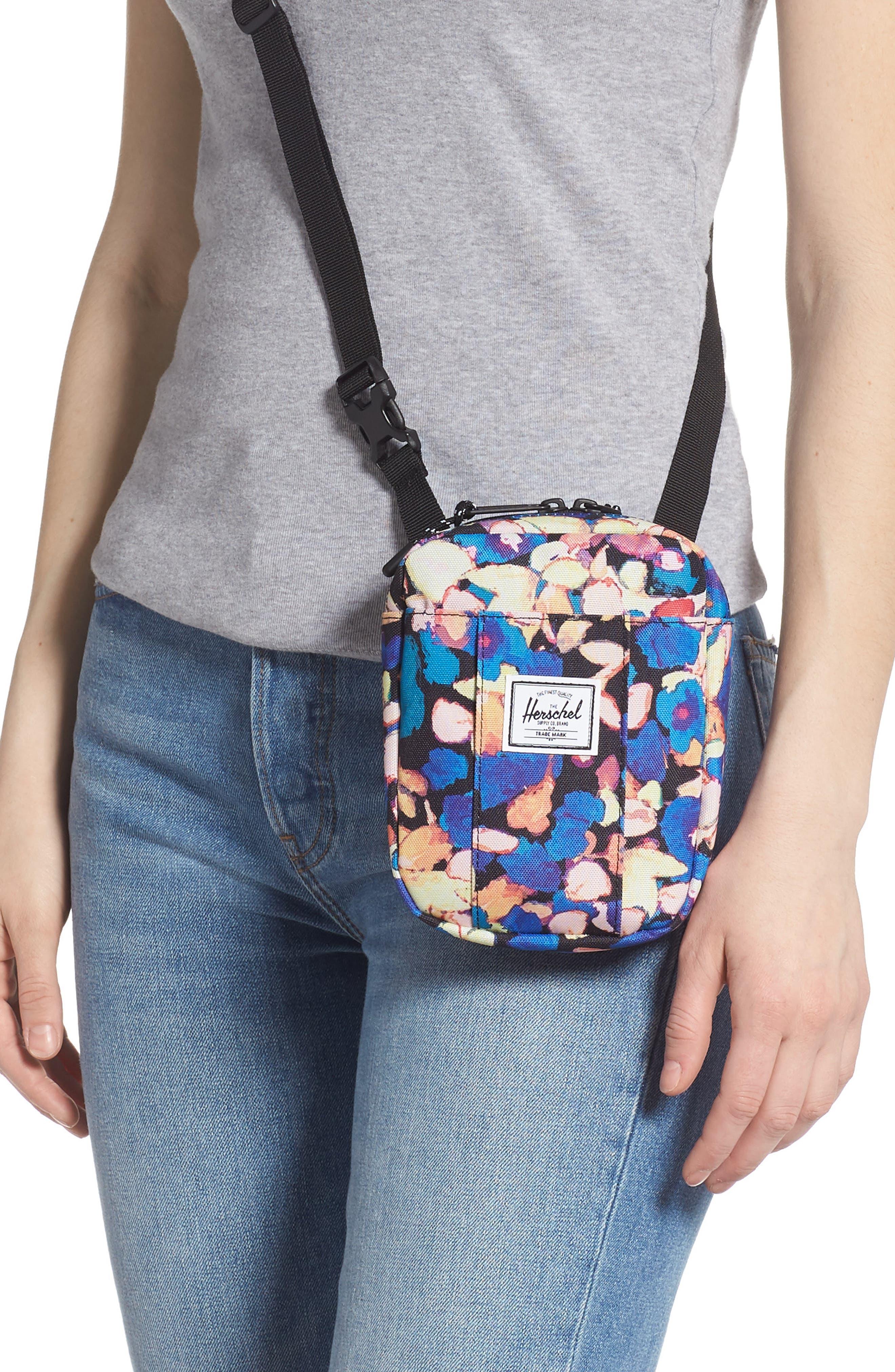 75bac255427 Herschel Supply Co. Cruz Crossbody Bag - Pink In Painted Floral ...