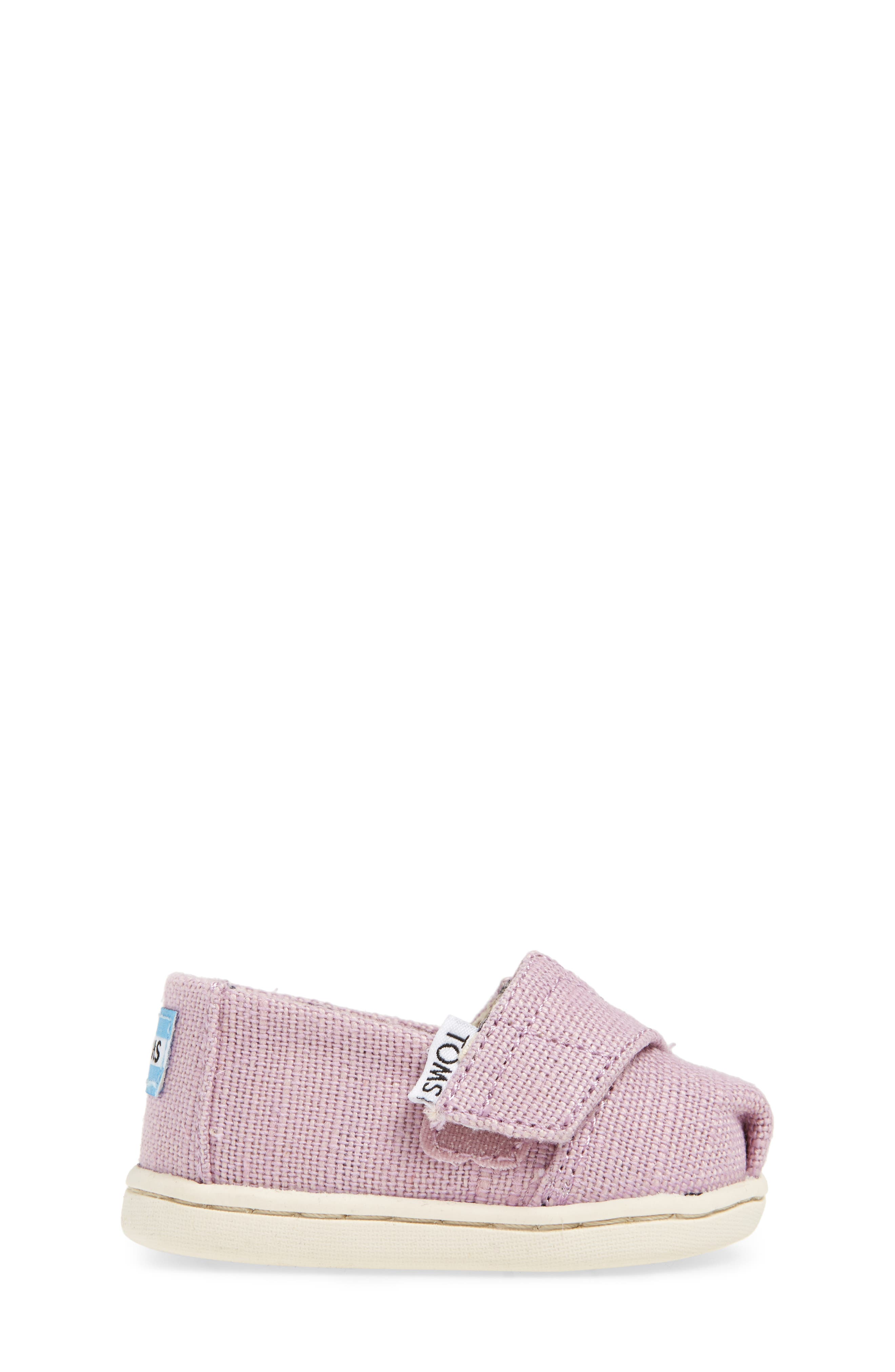 Heritage Canvas Slip-On,                             Alternate thumbnail 3, color,                             SOFT LILAC HERITAGE CANVAS