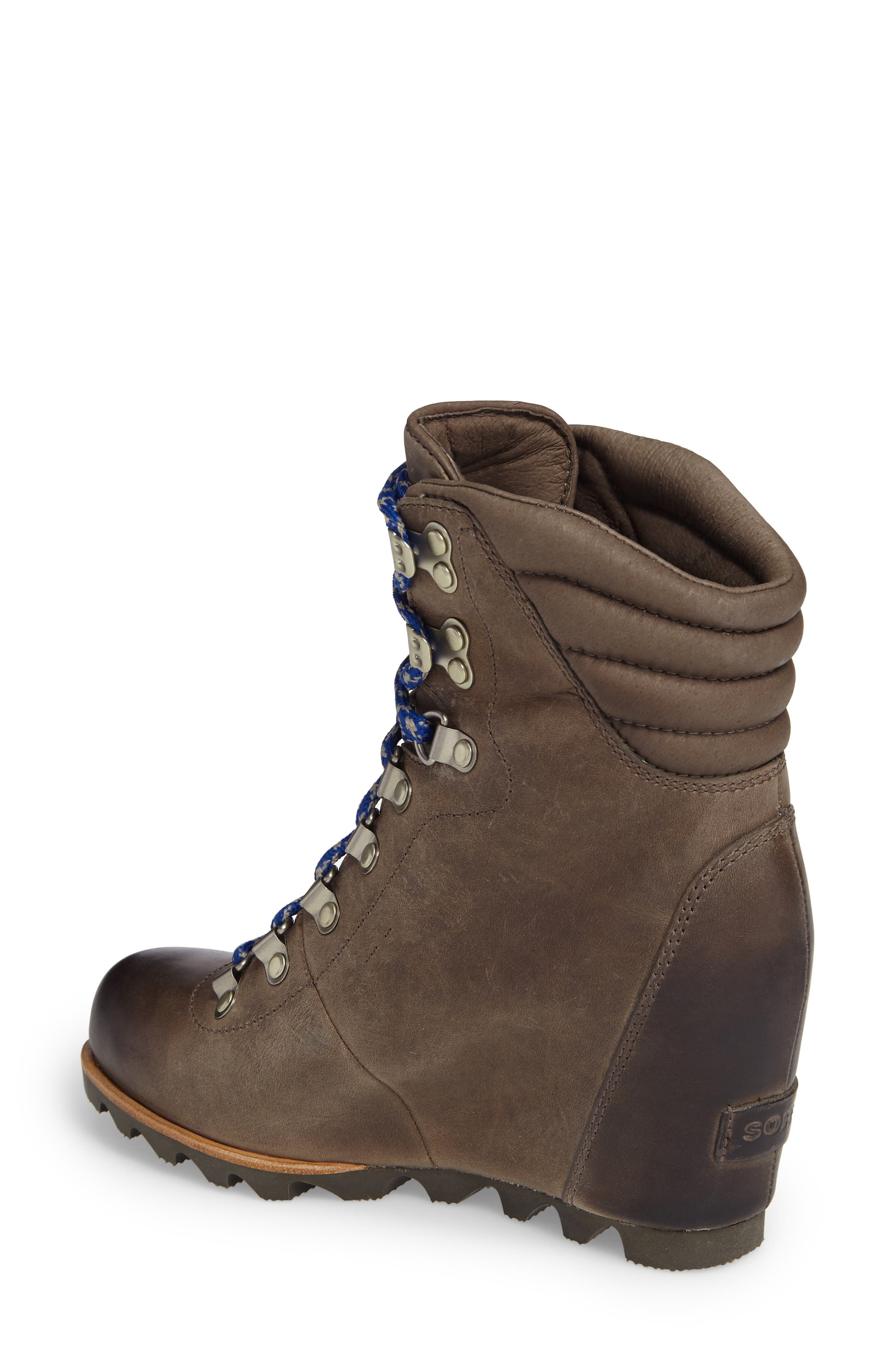 'Conquest' Waterproof Wedge Boot,                             Alternate thumbnail 7, color,