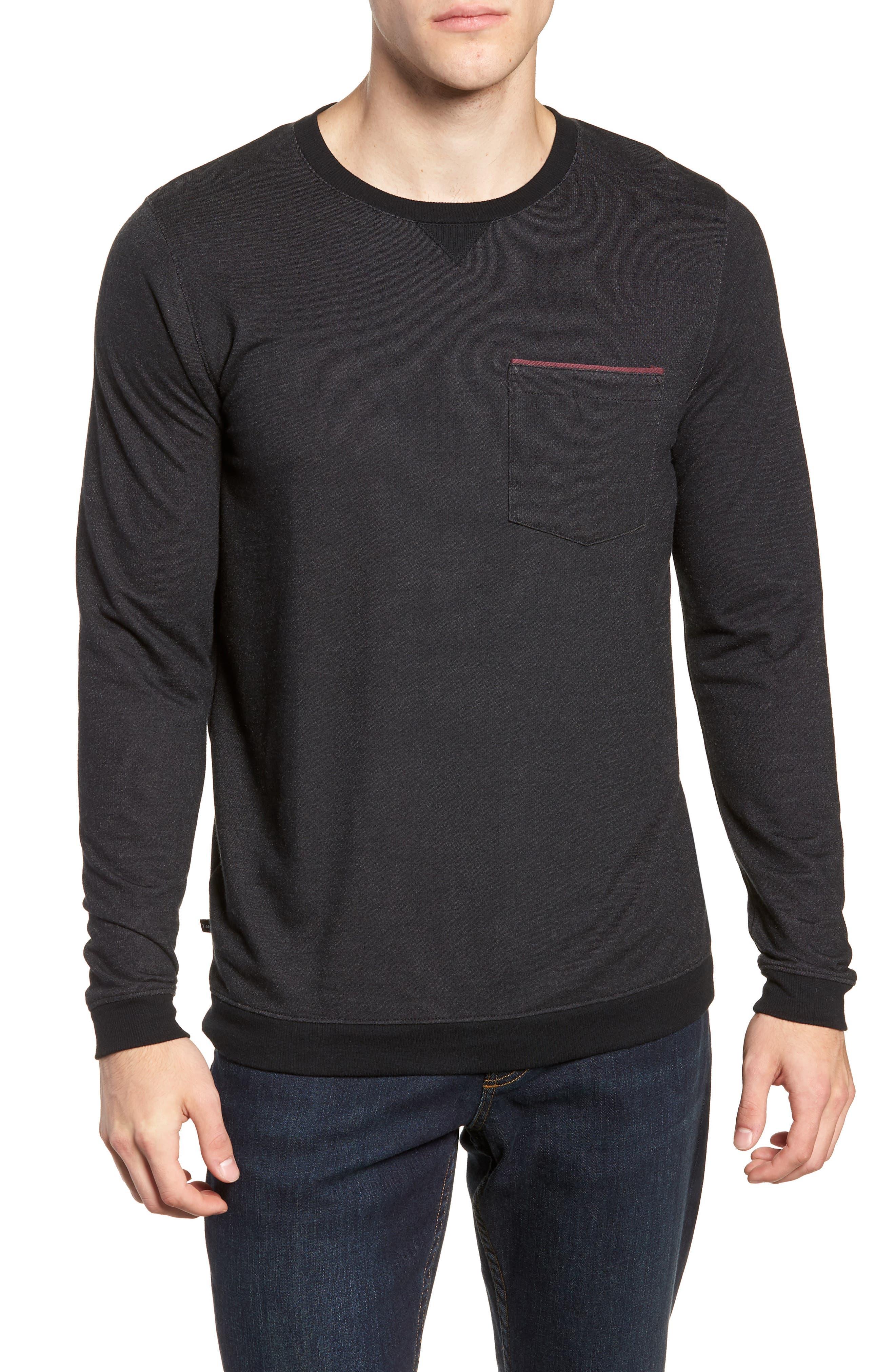 Lanegan Long Sleeve T-Shirt,                             Main thumbnail 1, color,                             BLACK/ WINETASTING