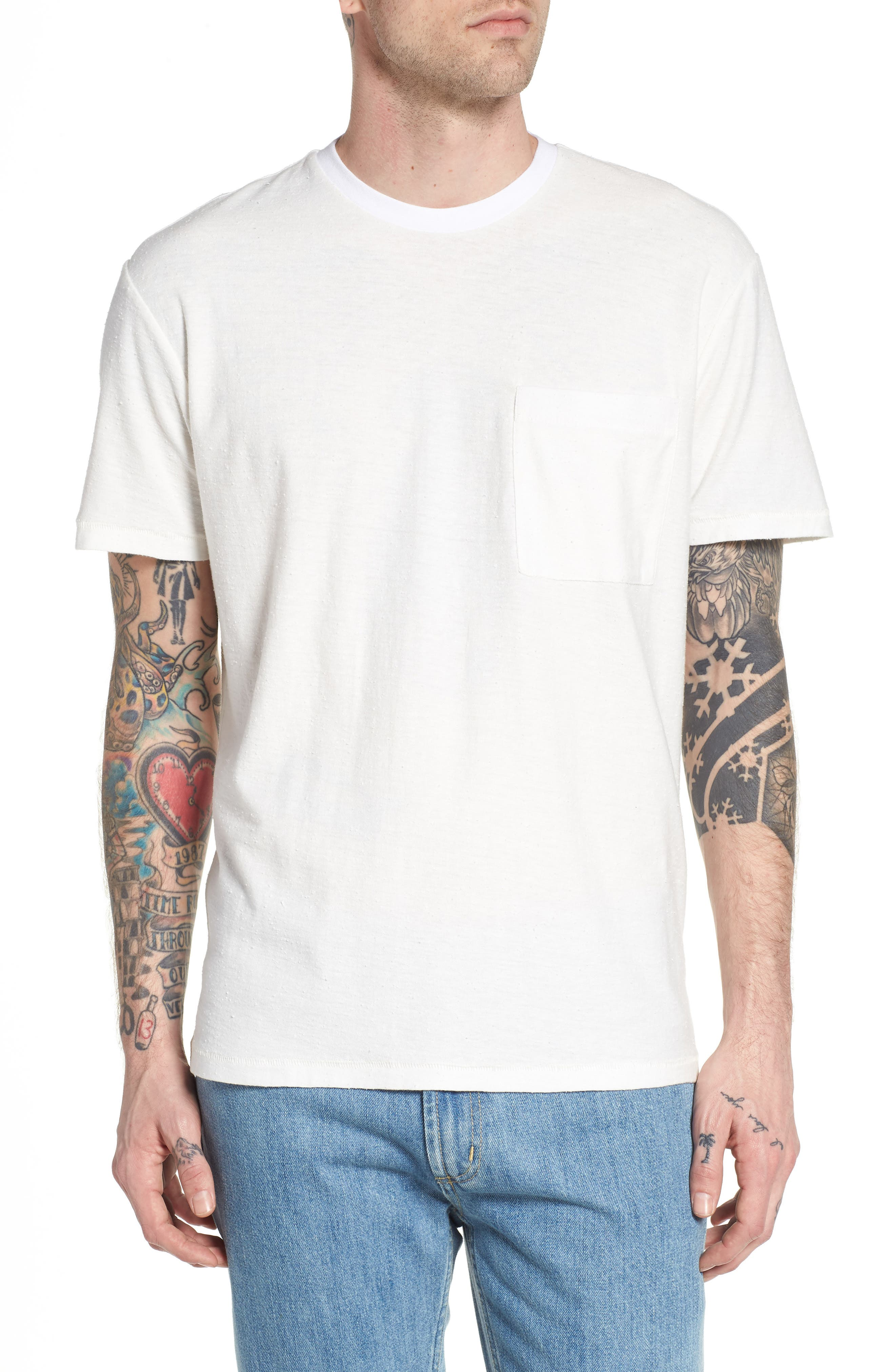 Nep Cotton Pocket T-Shirt,                             Main thumbnail 2, color,