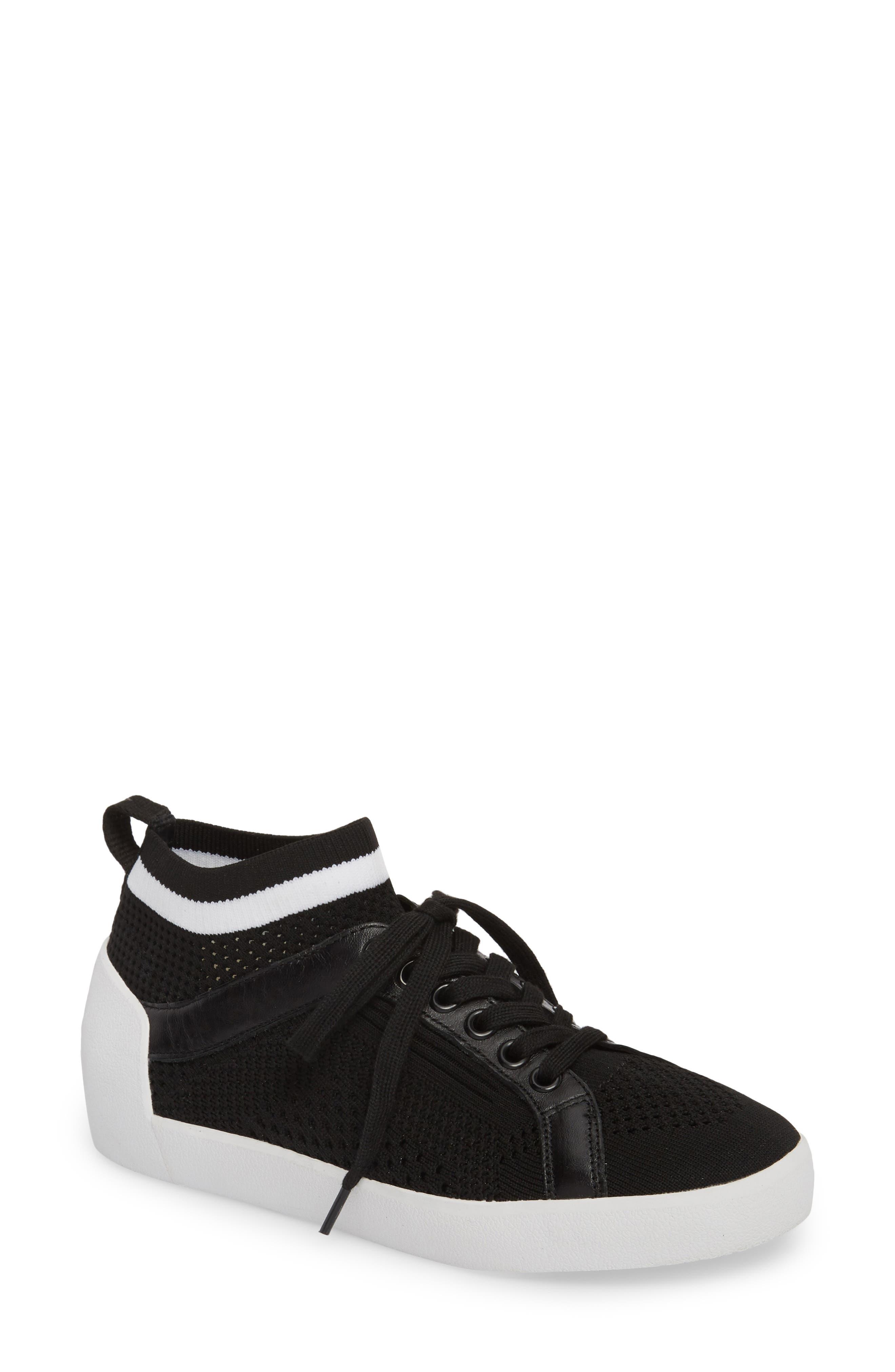Nolita Mid Top Sock Sneaker,                             Main thumbnail 1, color,                             001