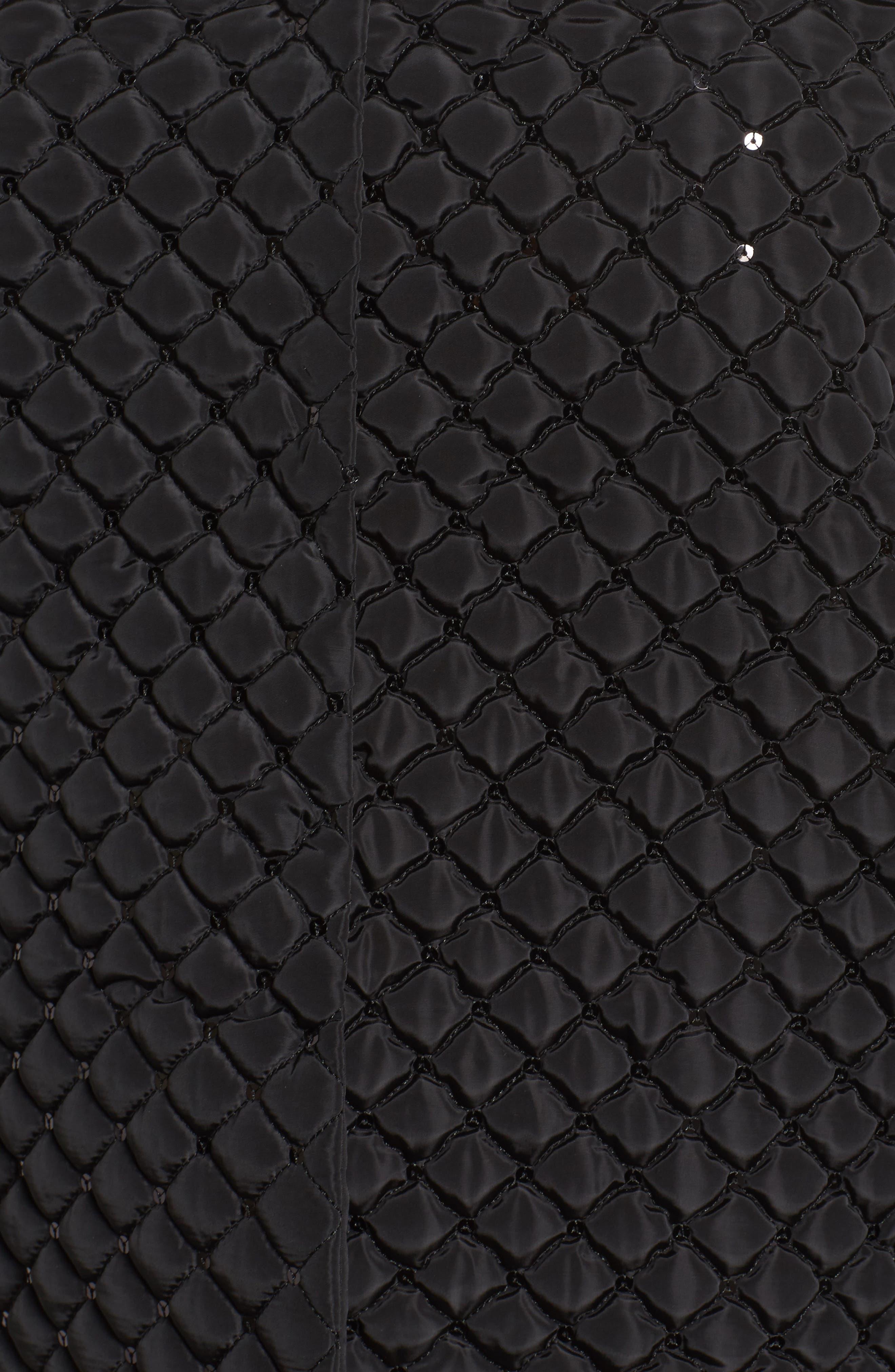Papaia Sequin Jacket,                             Alternate thumbnail 6, color,                             001