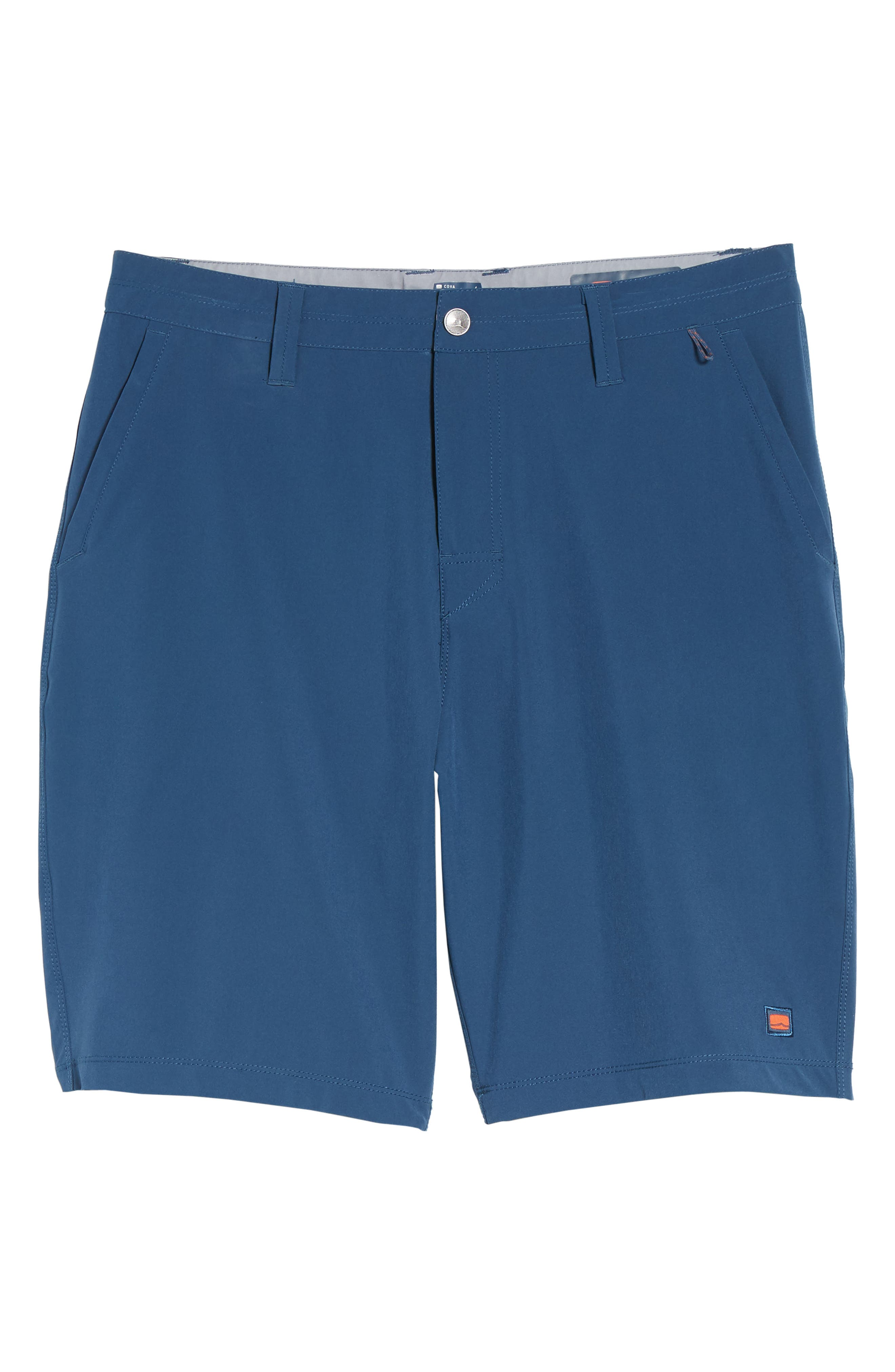 Coast Regular Fit Hybrid Shorts,                             Alternate thumbnail 6, color,                             DEEP SEA