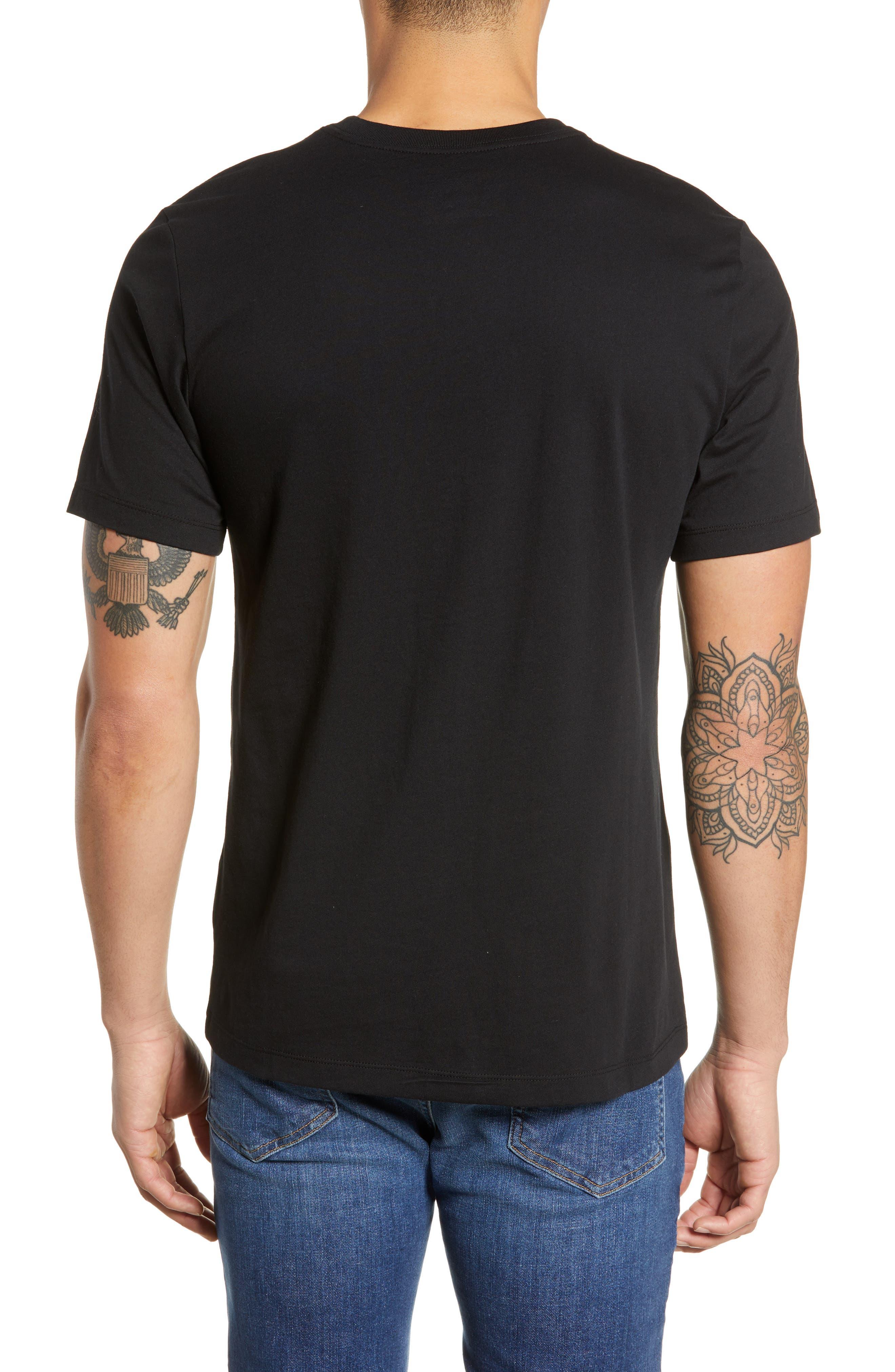 Air Force 1 T-Shirt,                             Alternate thumbnail 2, color,                             BLACK