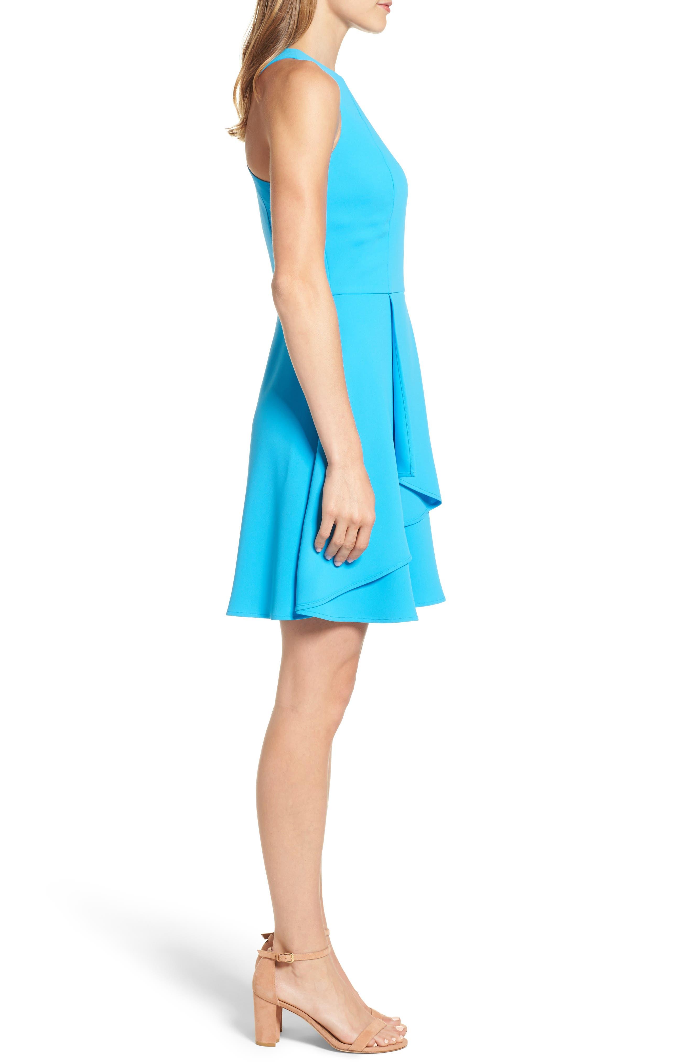Athena Fit & Flare Dress,                             Alternate thumbnail 11, color,