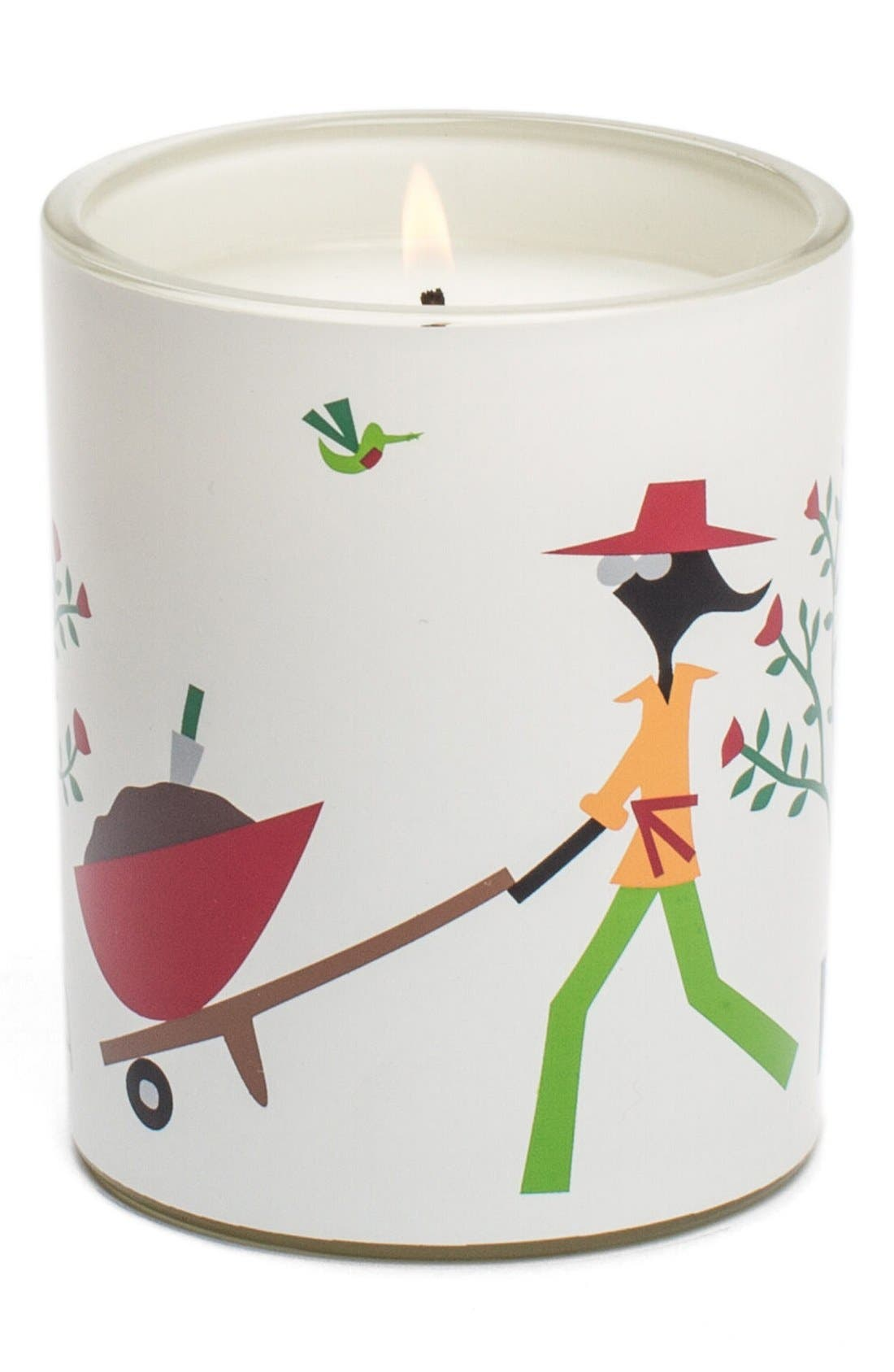 'Bloom' Scented Candle,                             Main thumbnail 1, color,                             000