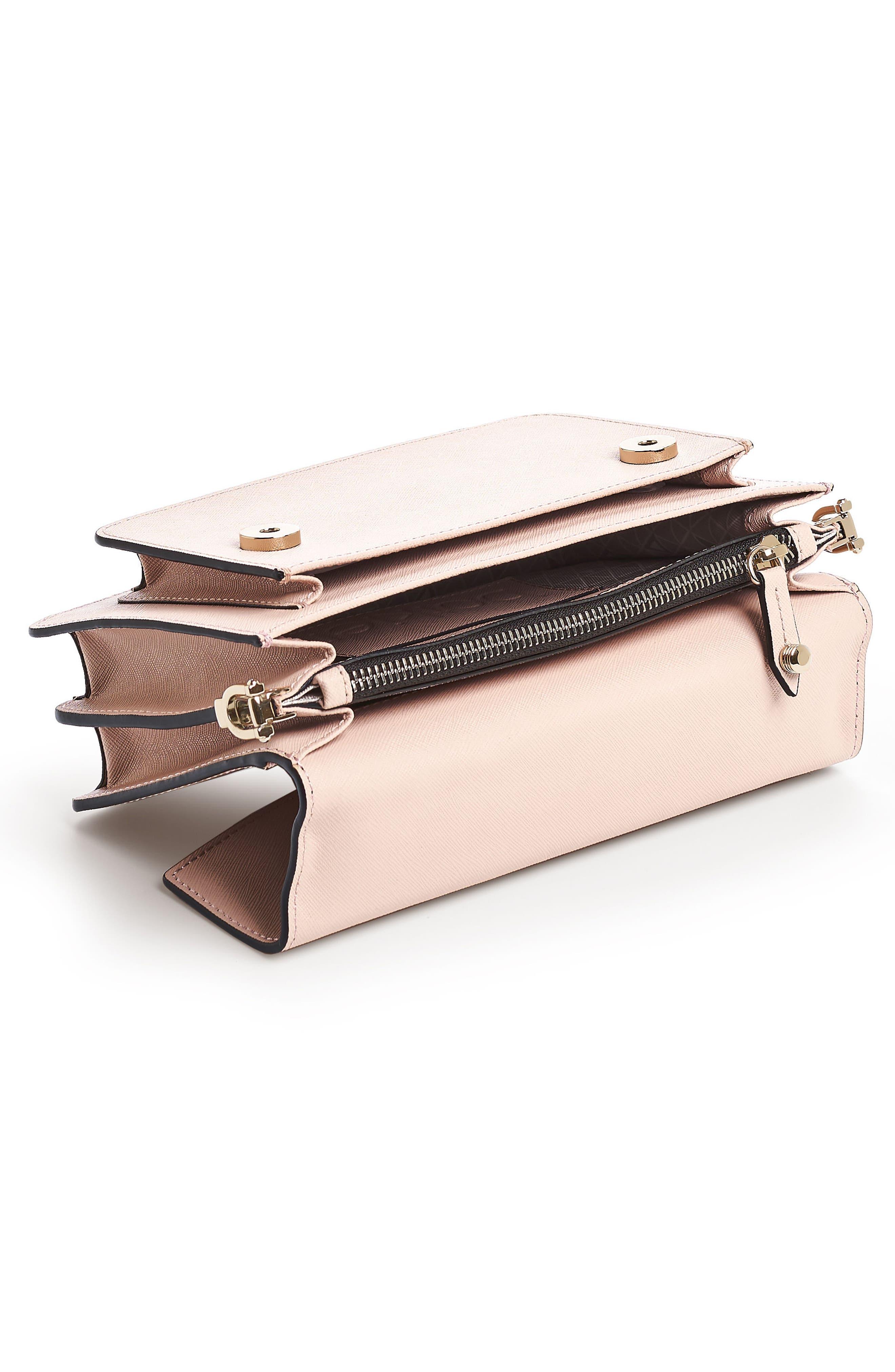 Cobble Hill Leather Crossbody Bag,                             Alternate thumbnail 127, color,