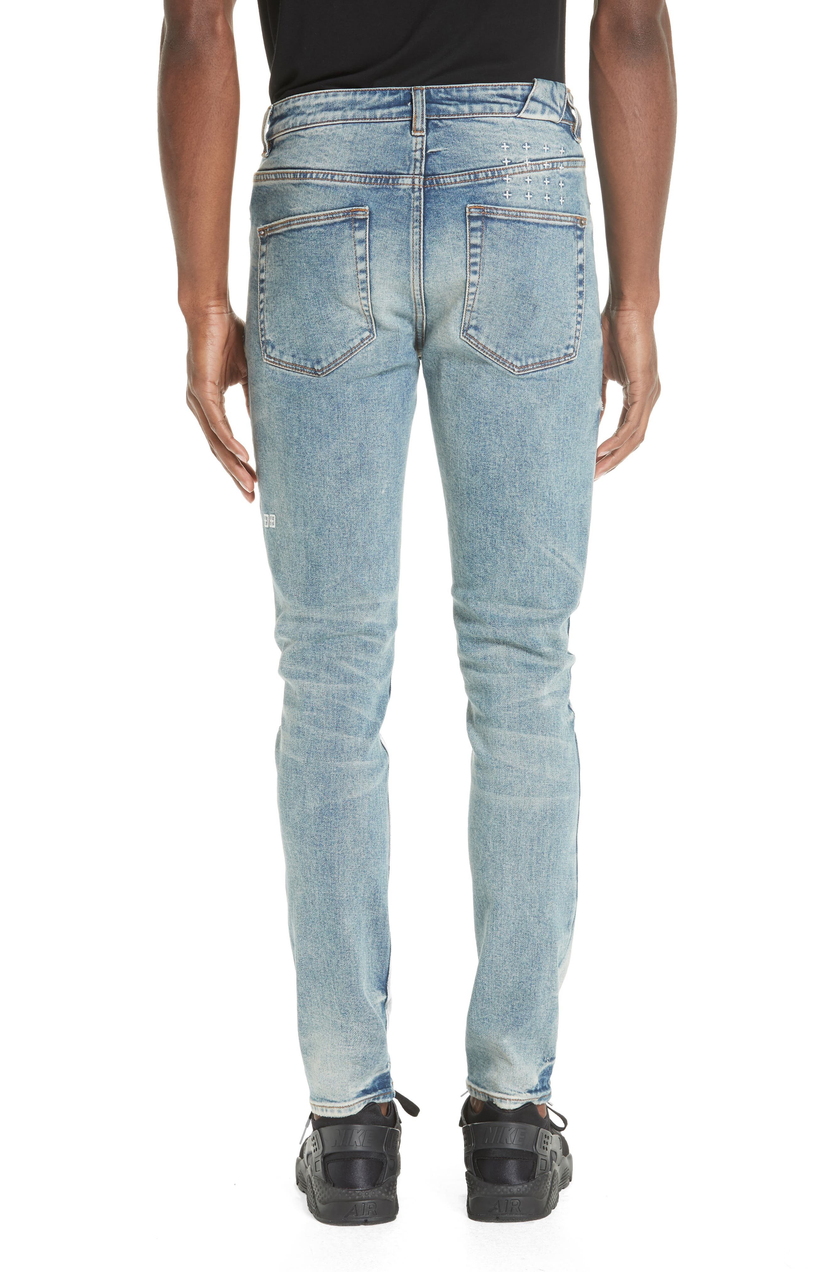 Chitch Pure Dynamite Skinny Fit Jeans,                             Alternate thumbnail 2, color,                             DENIM