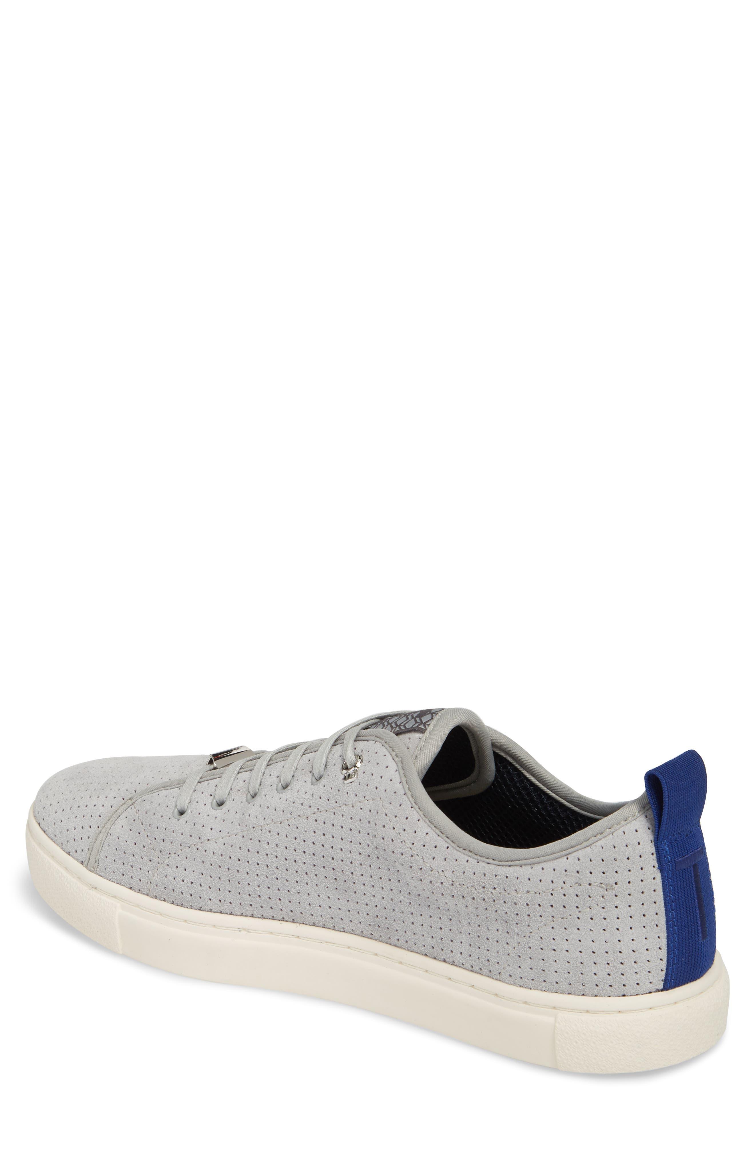 Kaliix Perforated Low Top Sneaker,                             Alternate thumbnail 2, color,                             070