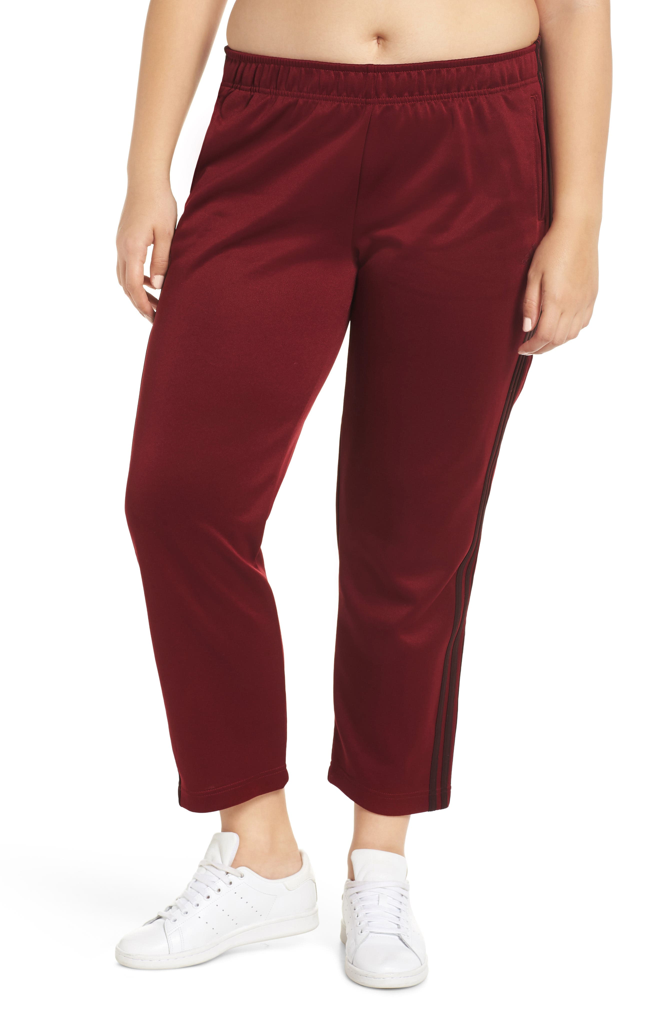 Tricot Snap Pants,                             Alternate thumbnail 2, color,                             NOBLE MAROON/ NIGHT RED