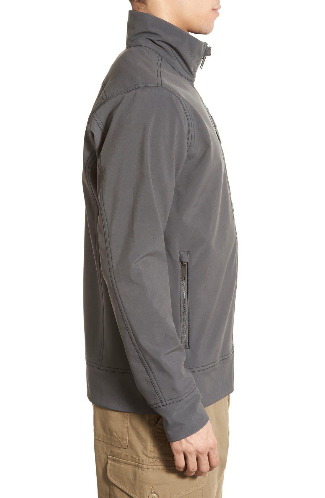 'Sidesend' Regular Fit Water Repellent Jacket,                             Alternate thumbnail 8, color,