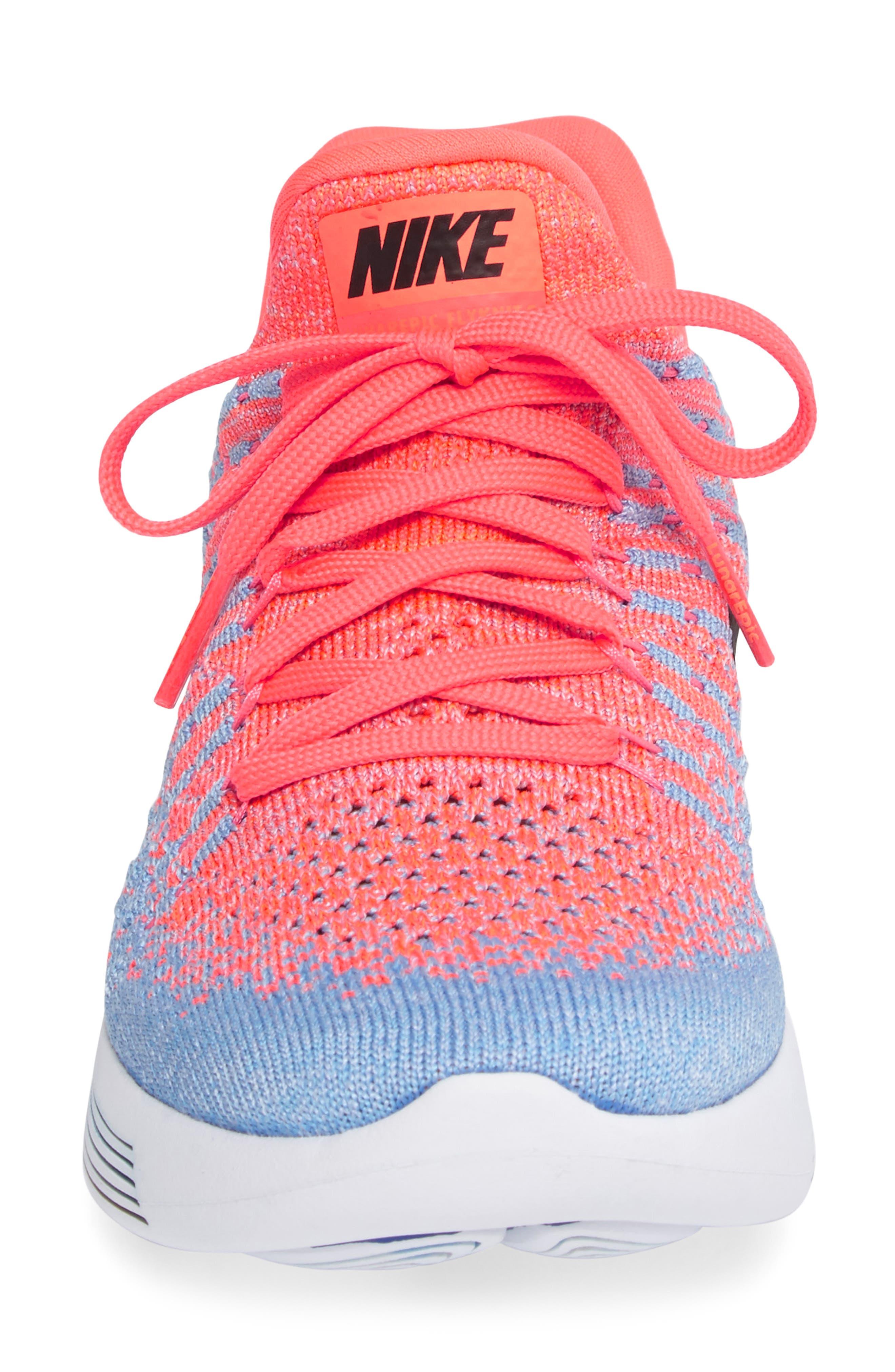 LunarEpic Low Flyknit 2 Running Shoe,                             Alternate thumbnail 72, color,