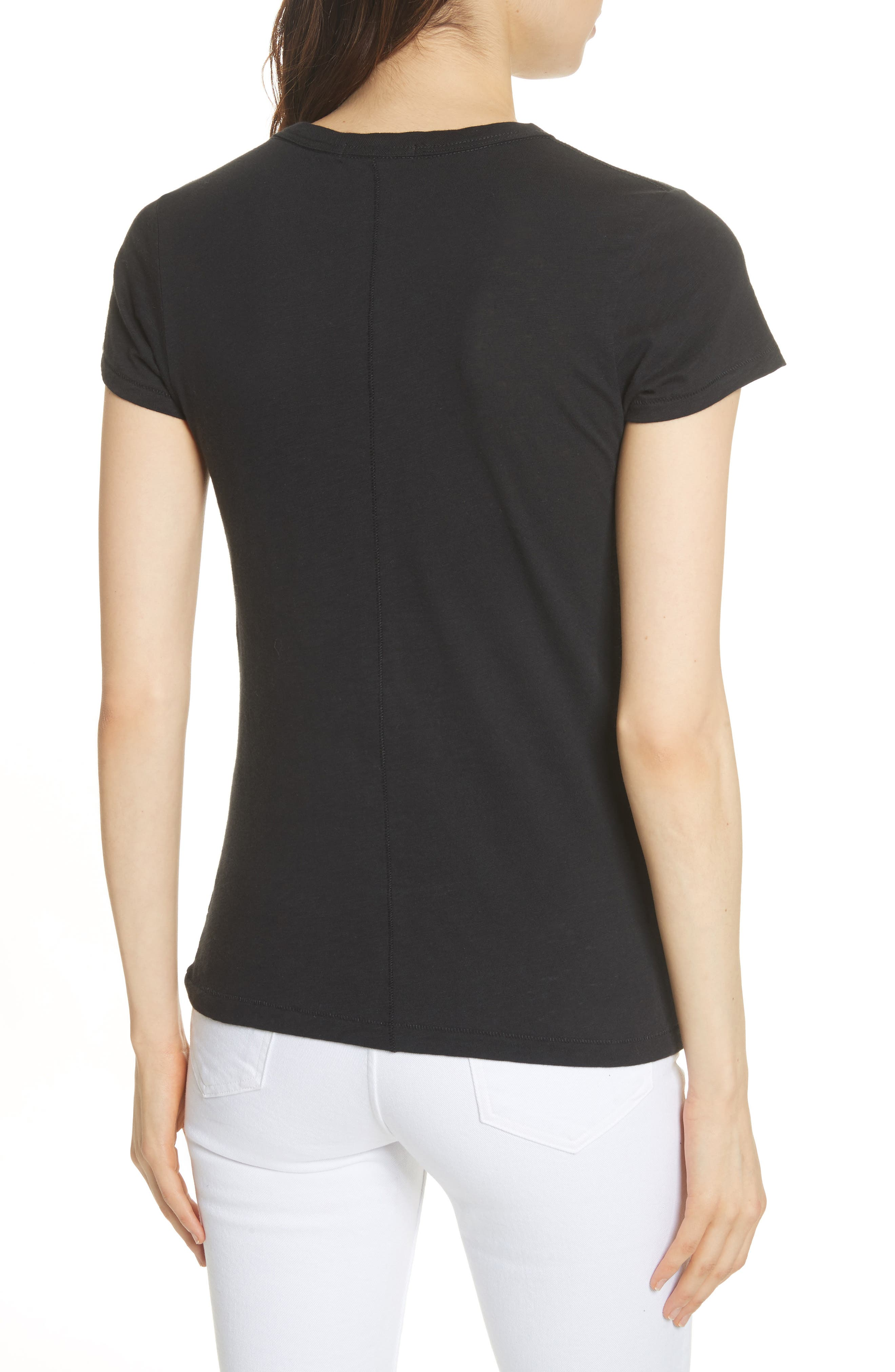 rag & bone The Tee,                             Alternate thumbnail 2, color,                             001