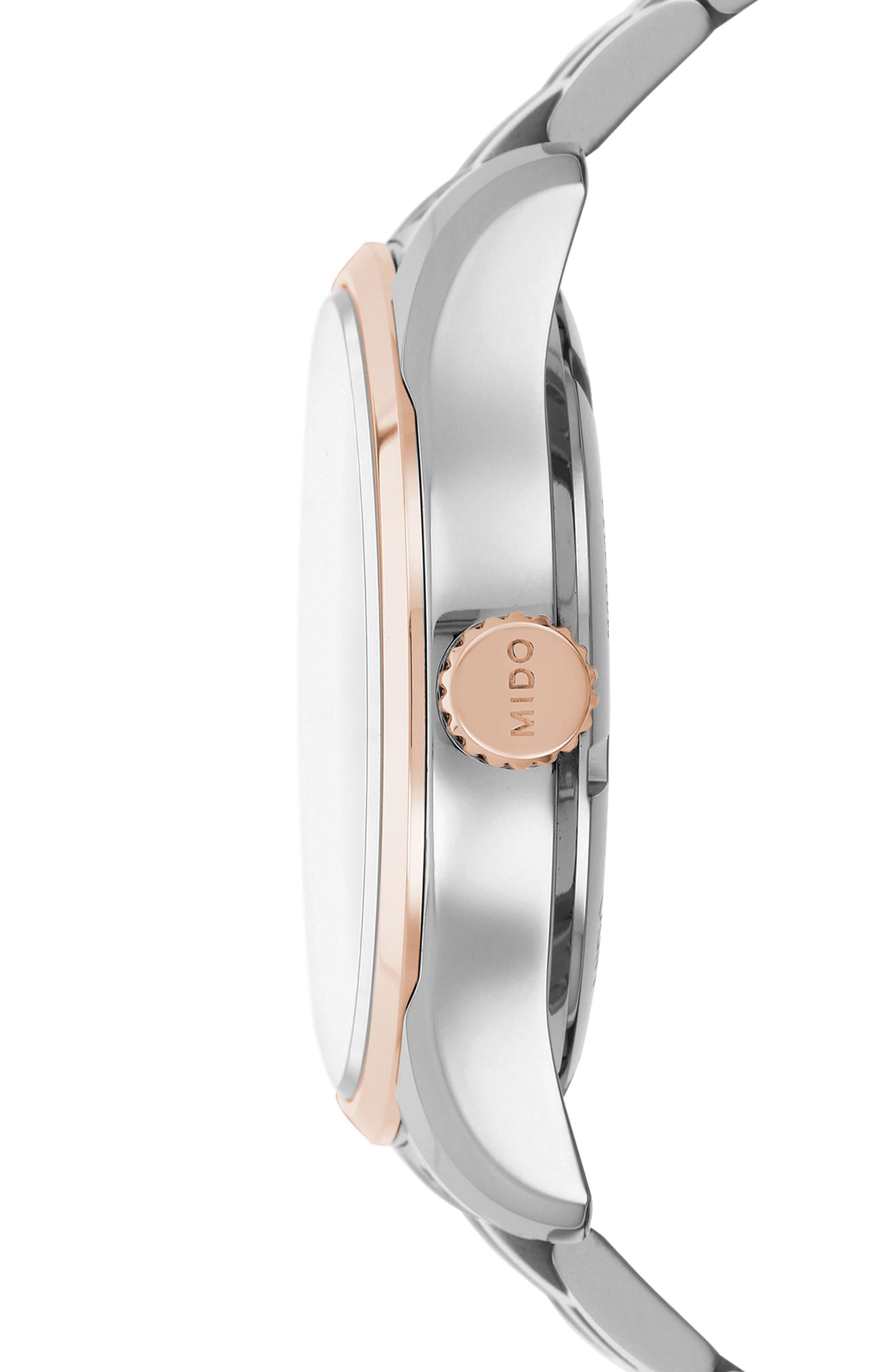 Belluna II Bracelet Watch, 40mm,                             Alternate thumbnail 6, color,