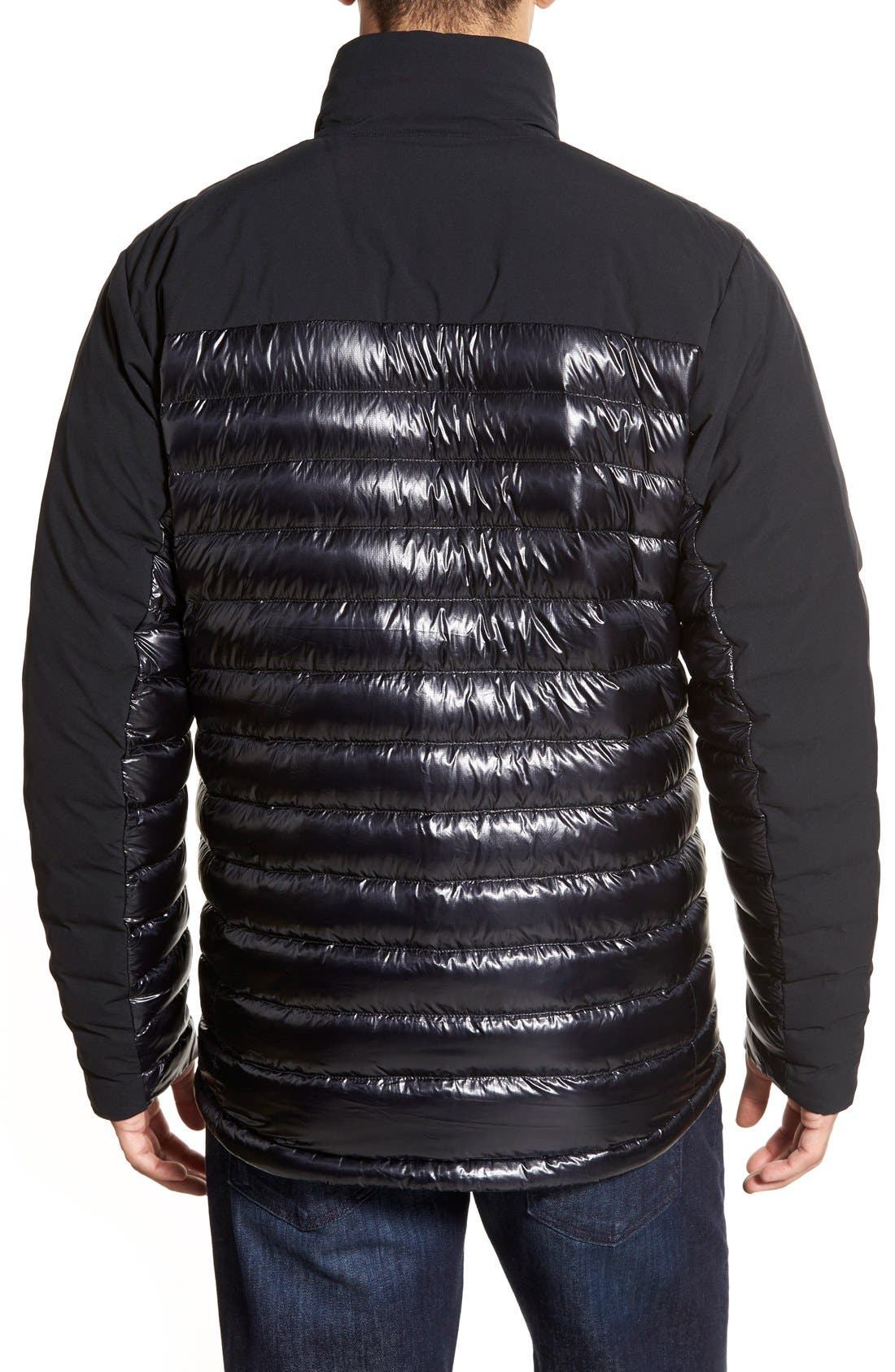 Cole Haan + Mountain Hardwear 'ZeroGrand' Quilted Down Commuter Jacket,                             Alternate thumbnail 2, color,                             001