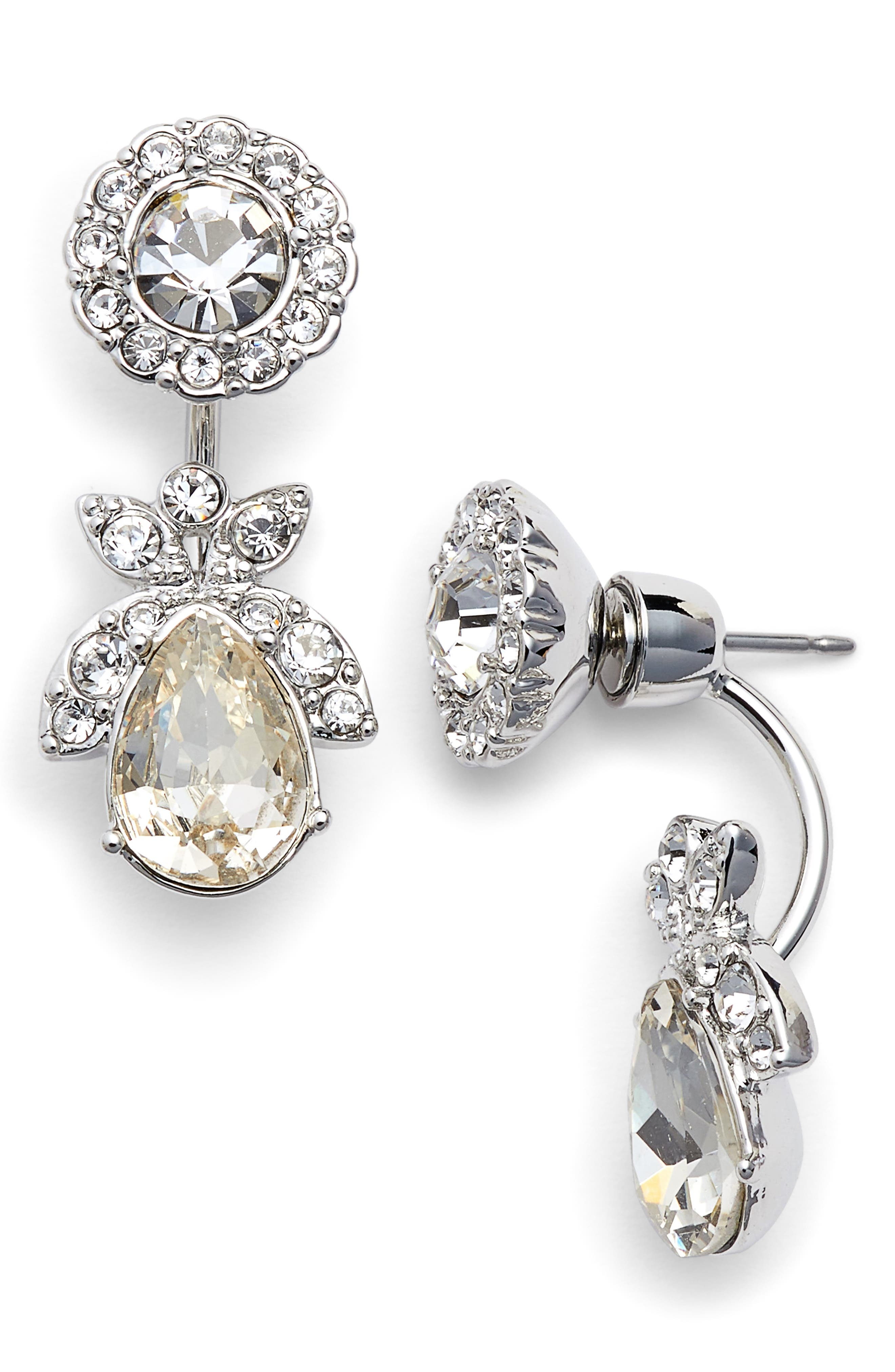 Crystal Ear Jackets,                             Main thumbnail 1, color,                             040
