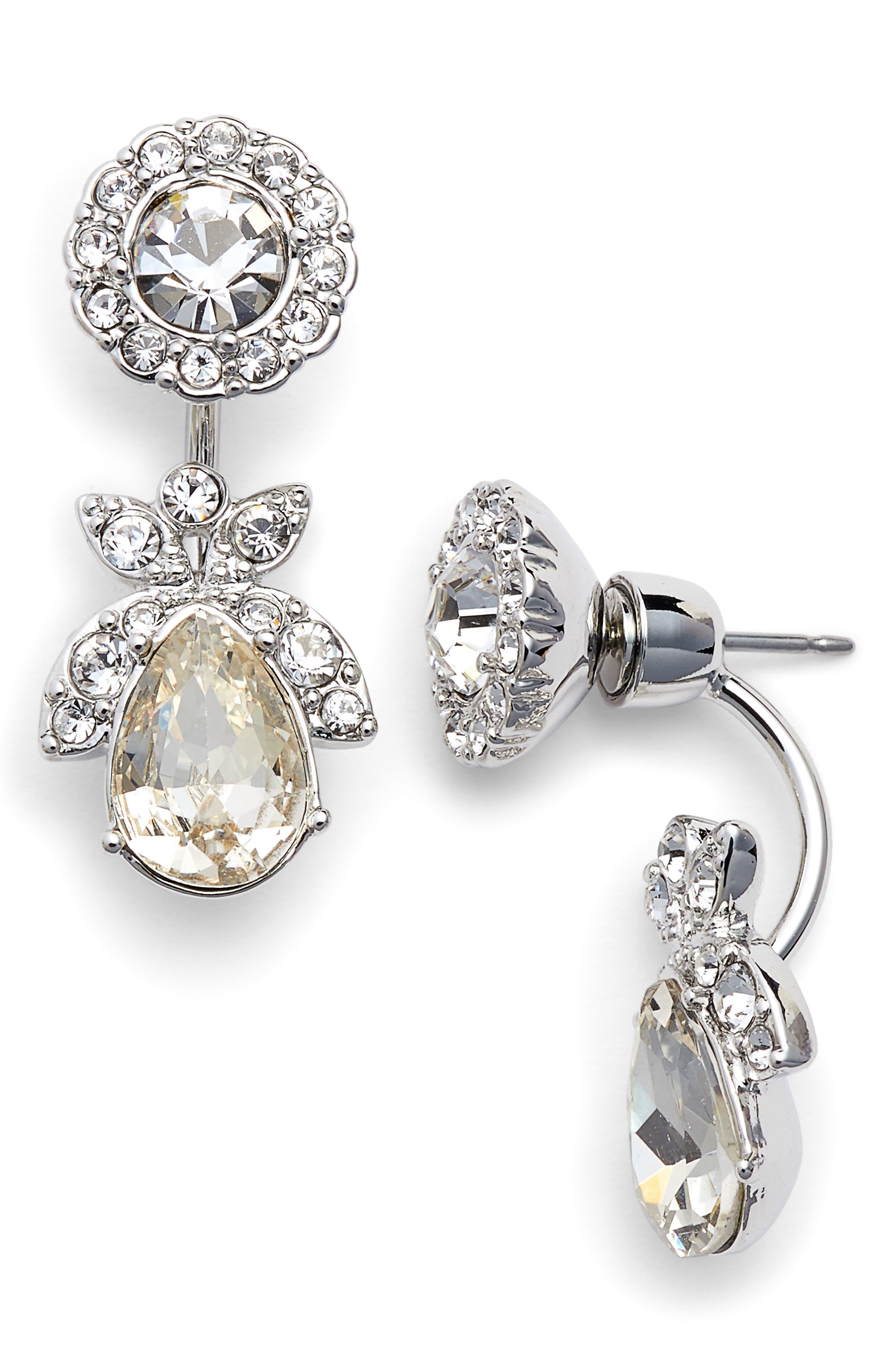 Crystal Ear Jackets,                         Main,                         color, 040