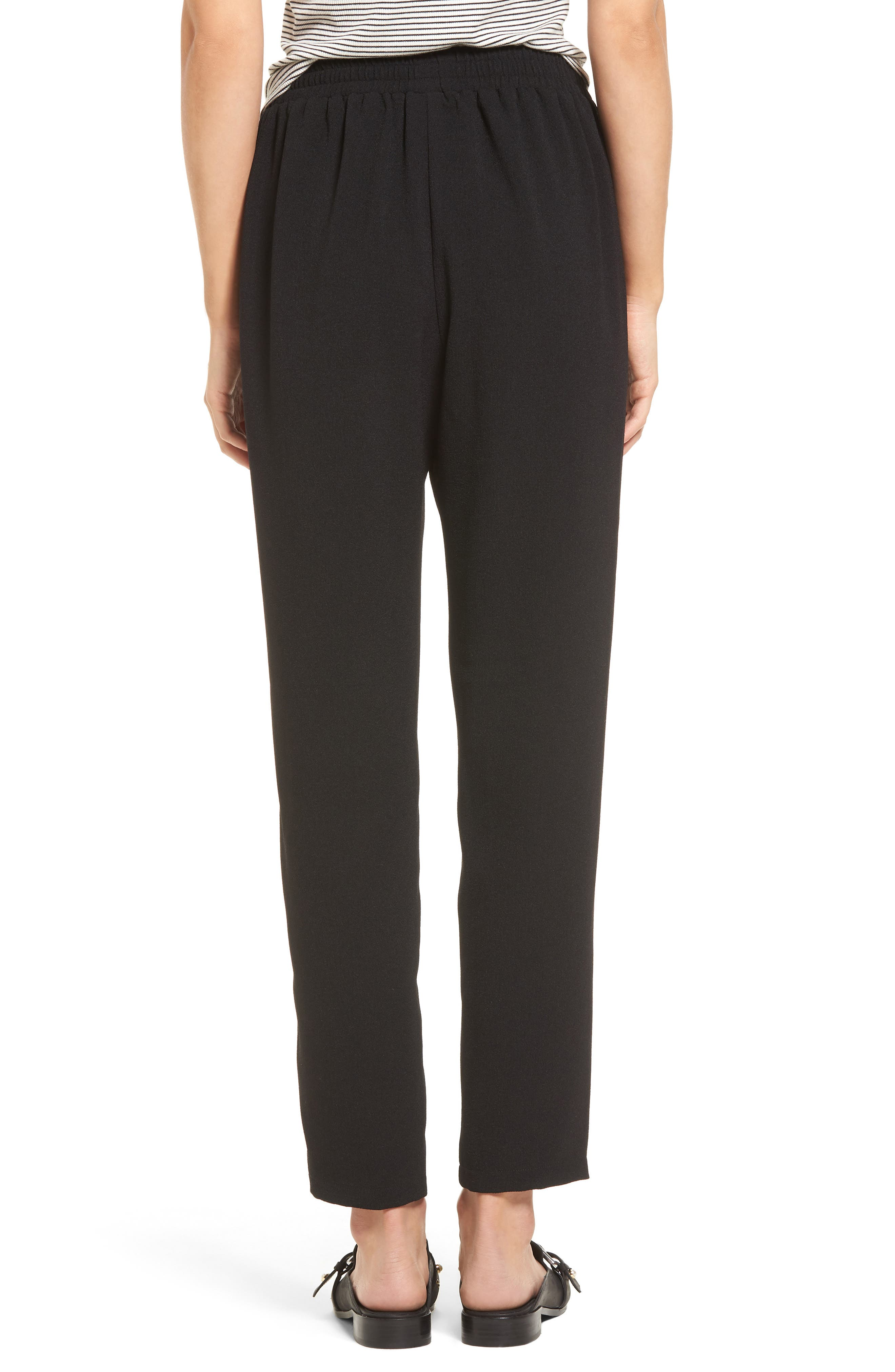 Tapered Woven Pants,                             Alternate thumbnail 2, color,                             001