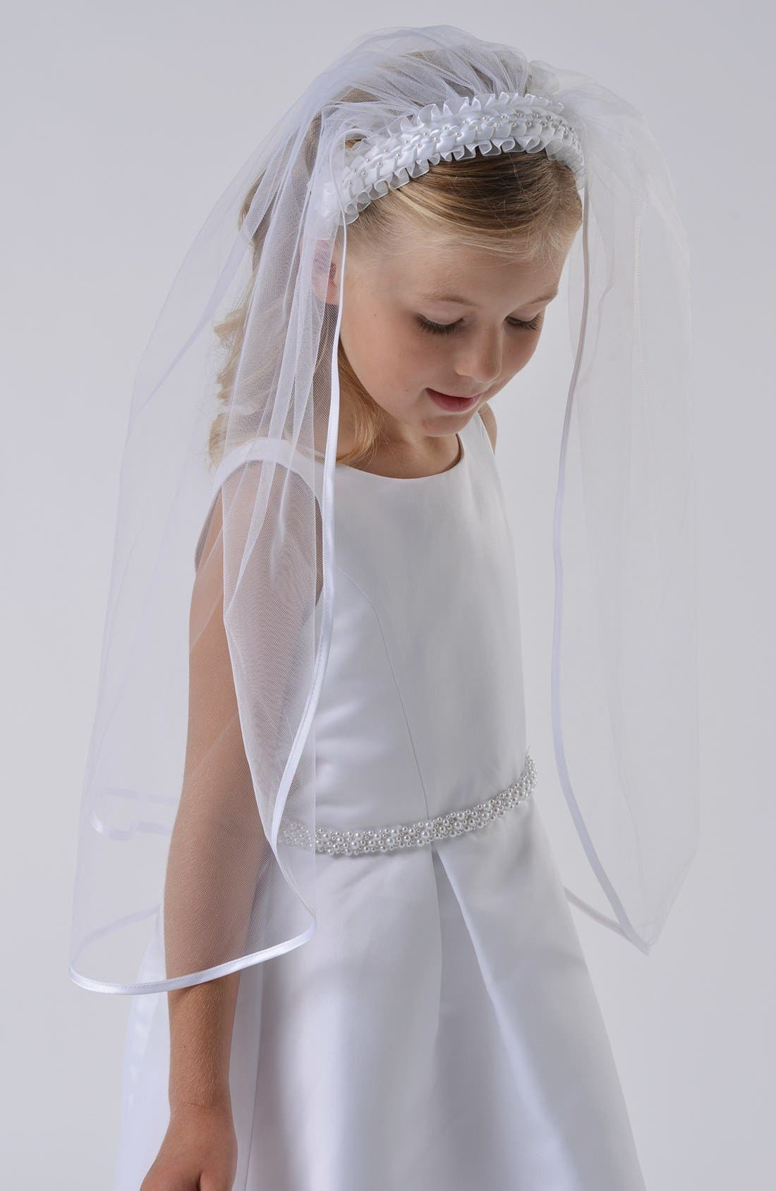 Communion Veil,                         Main,                         color, 100