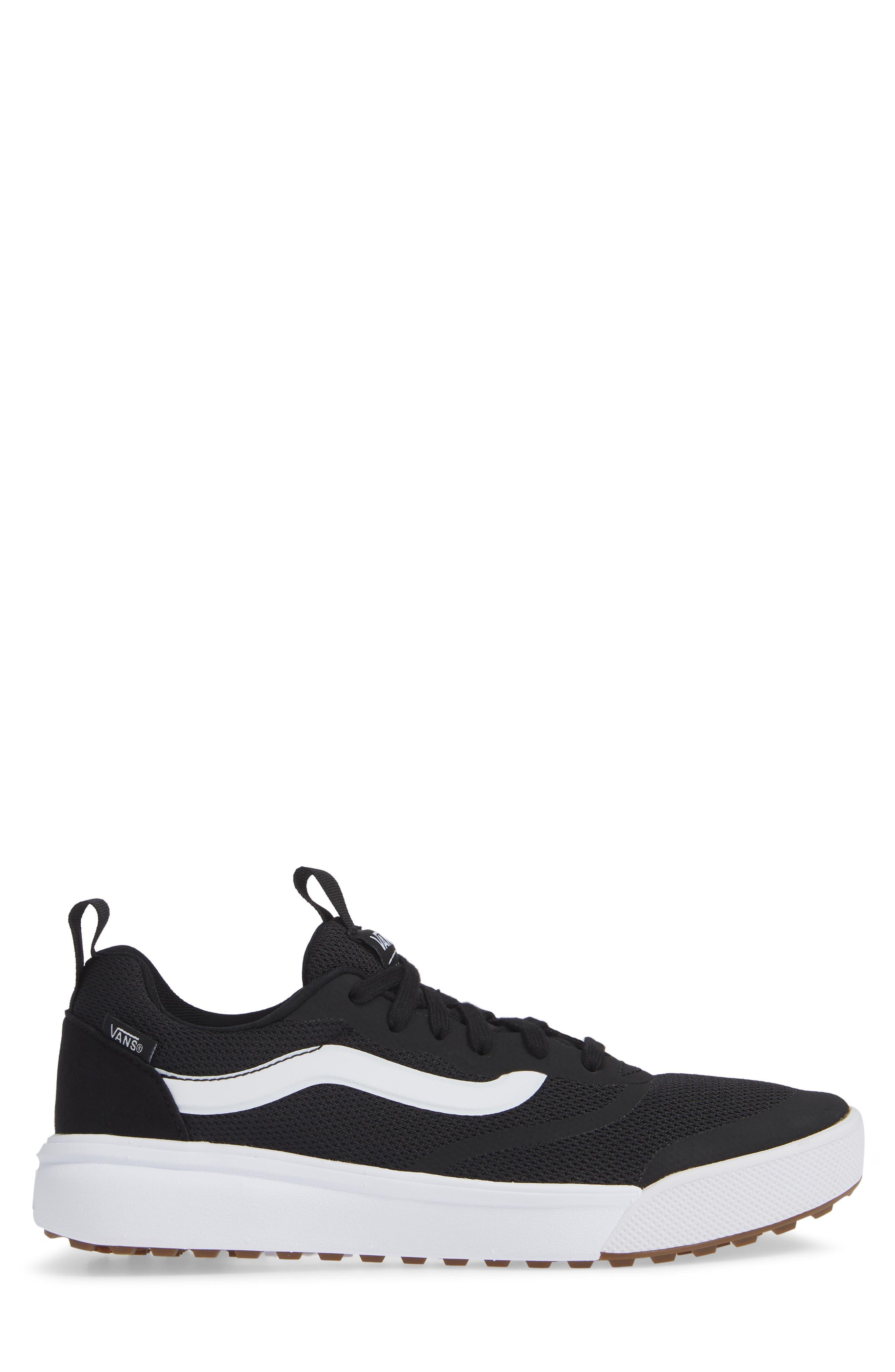 Ultrarange Rapidwield Sneaker,                             Alternate thumbnail 3, color,                             BLACK/ WHITE MESH