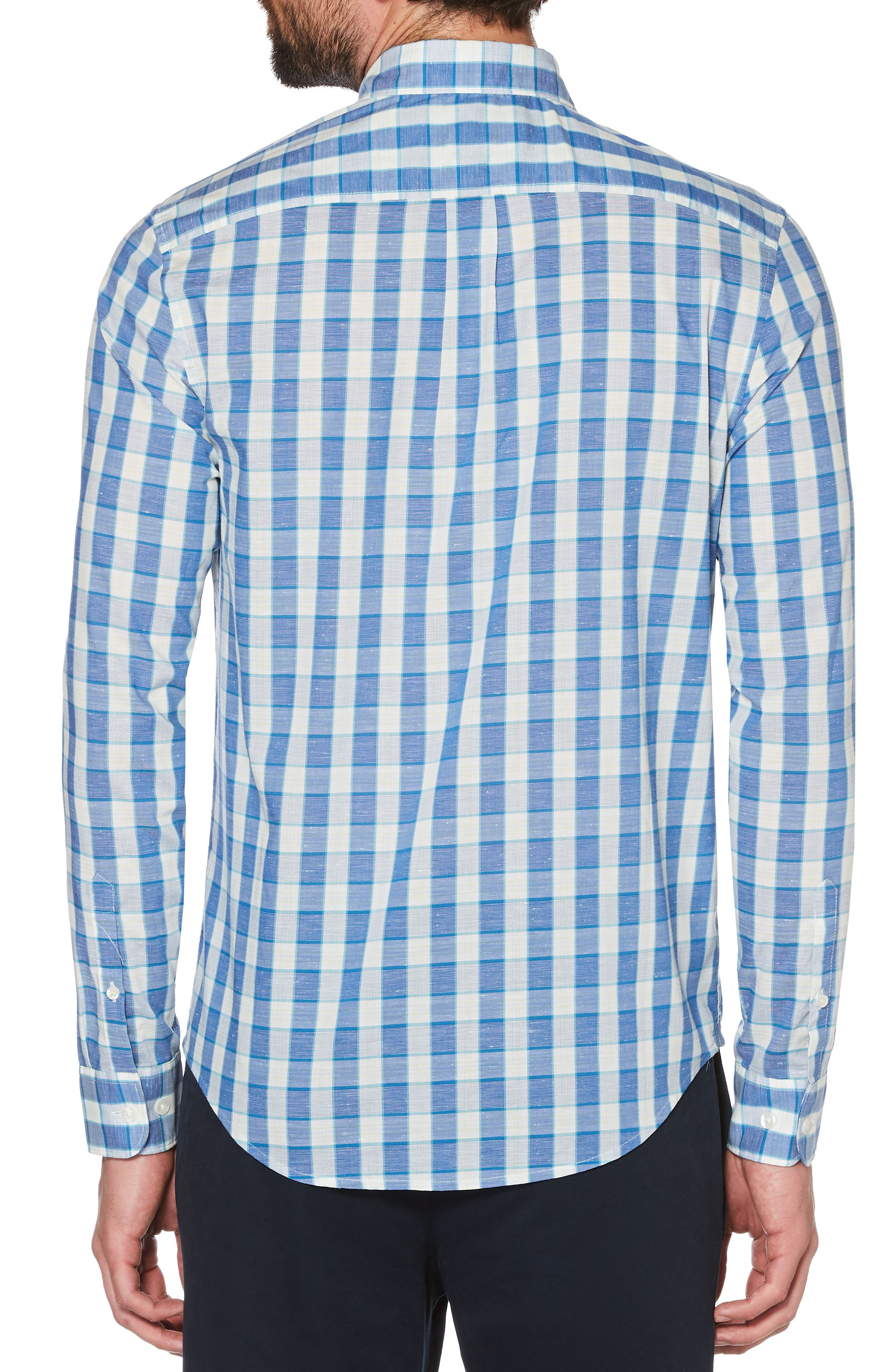 Nep Plaid Woven Shirt,                             Alternate thumbnail 2, color,                             462