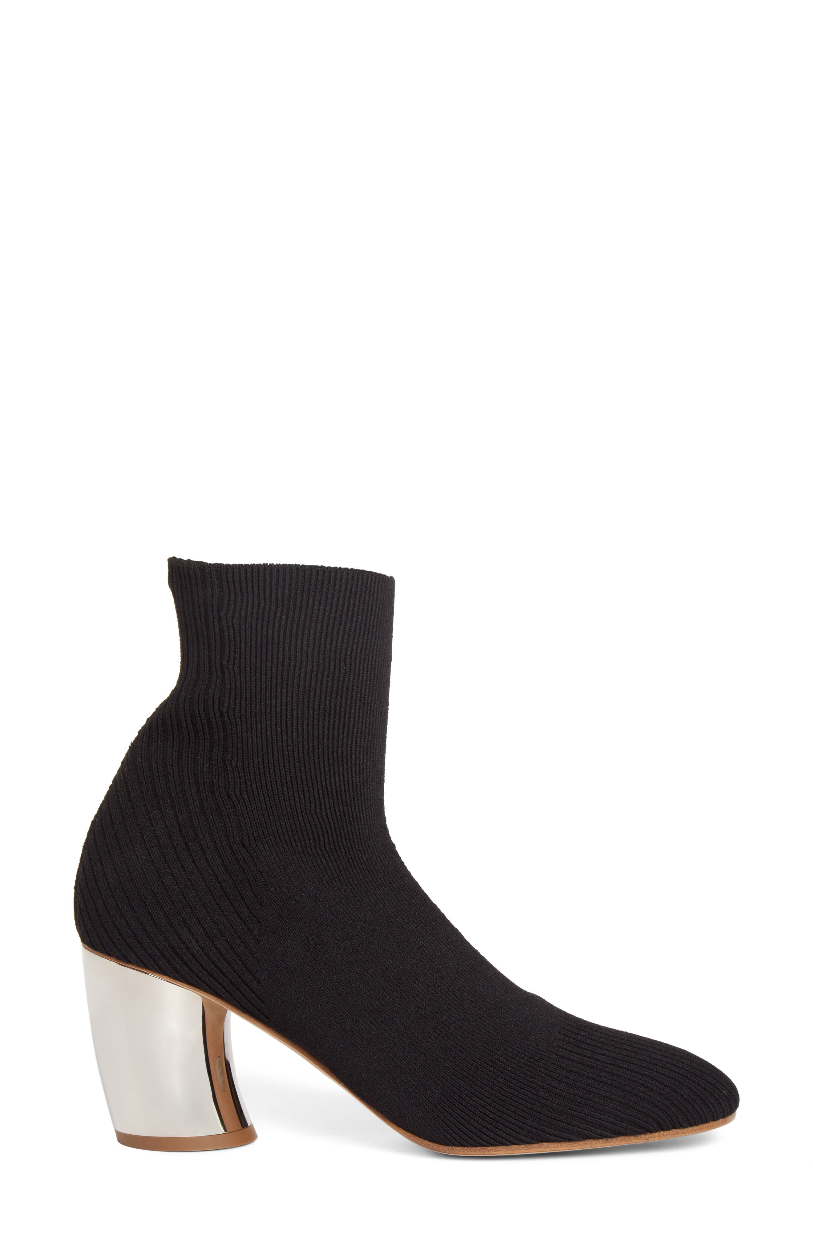 Sock Bootie,                             Alternate thumbnail 3, color,                             001