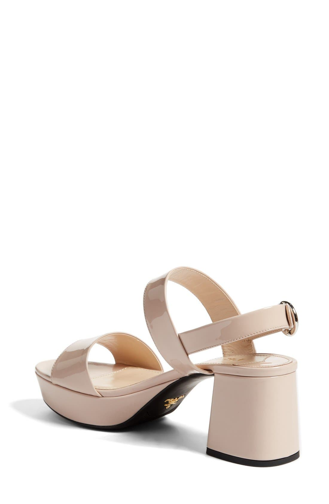 Slingback Platform Sandal,                             Alternate thumbnail 5, color,