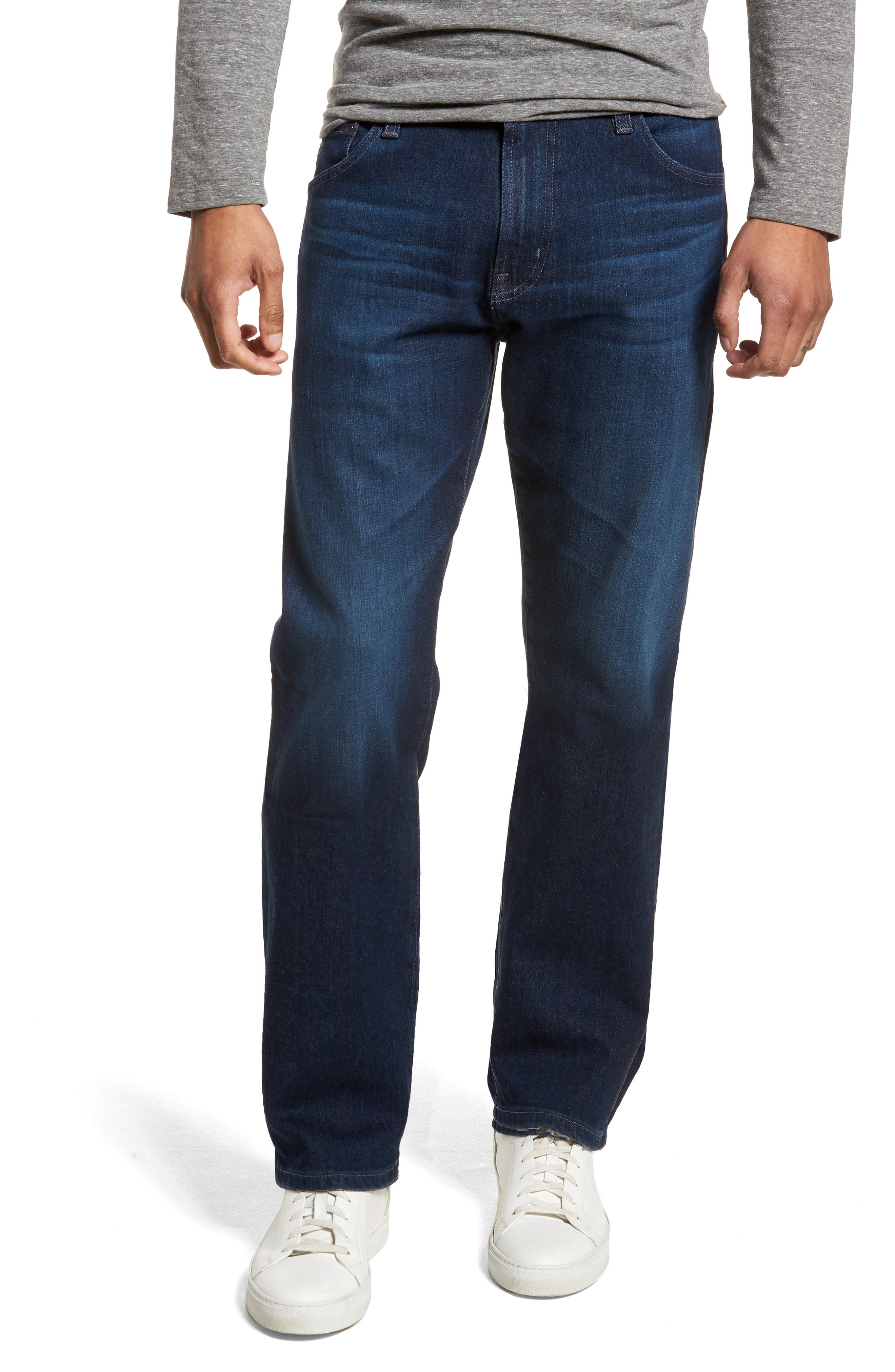 Ives Straight Leg Jeans,                         Main,                         color, 407