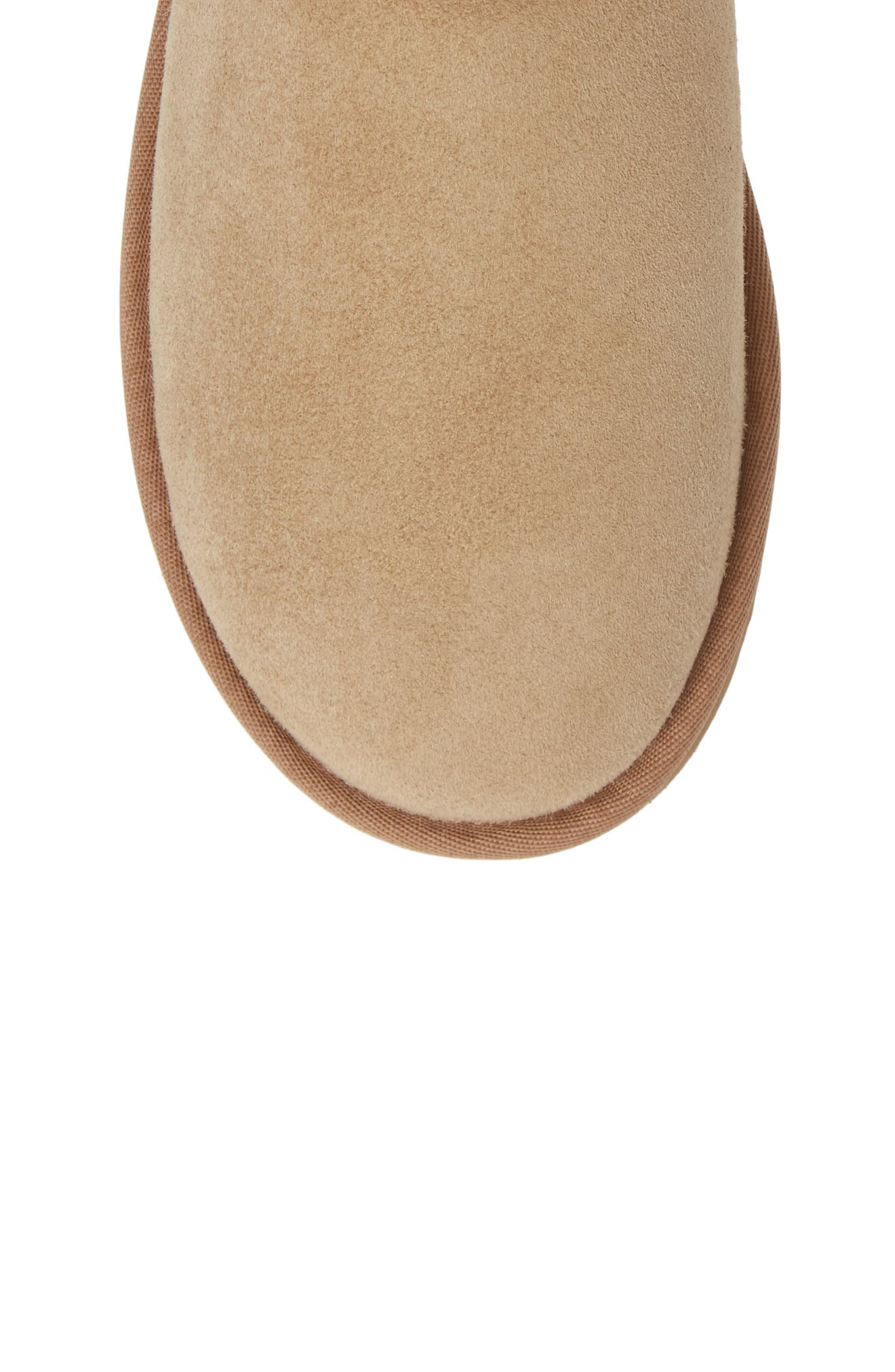Classic Short 40:40:40 Genuine Shearling Boot,                             Alternate thumbnail 5, color,                             SAND SUEDE