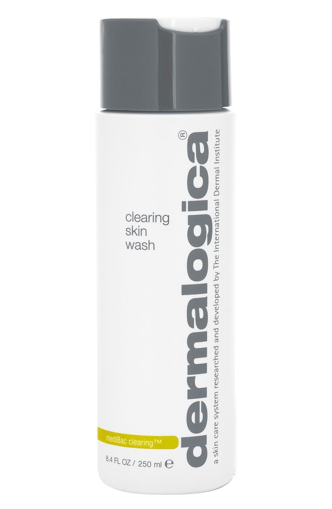 Clearing Skin Wash,                             Main thumbnail 1, color,                             NO COLOR