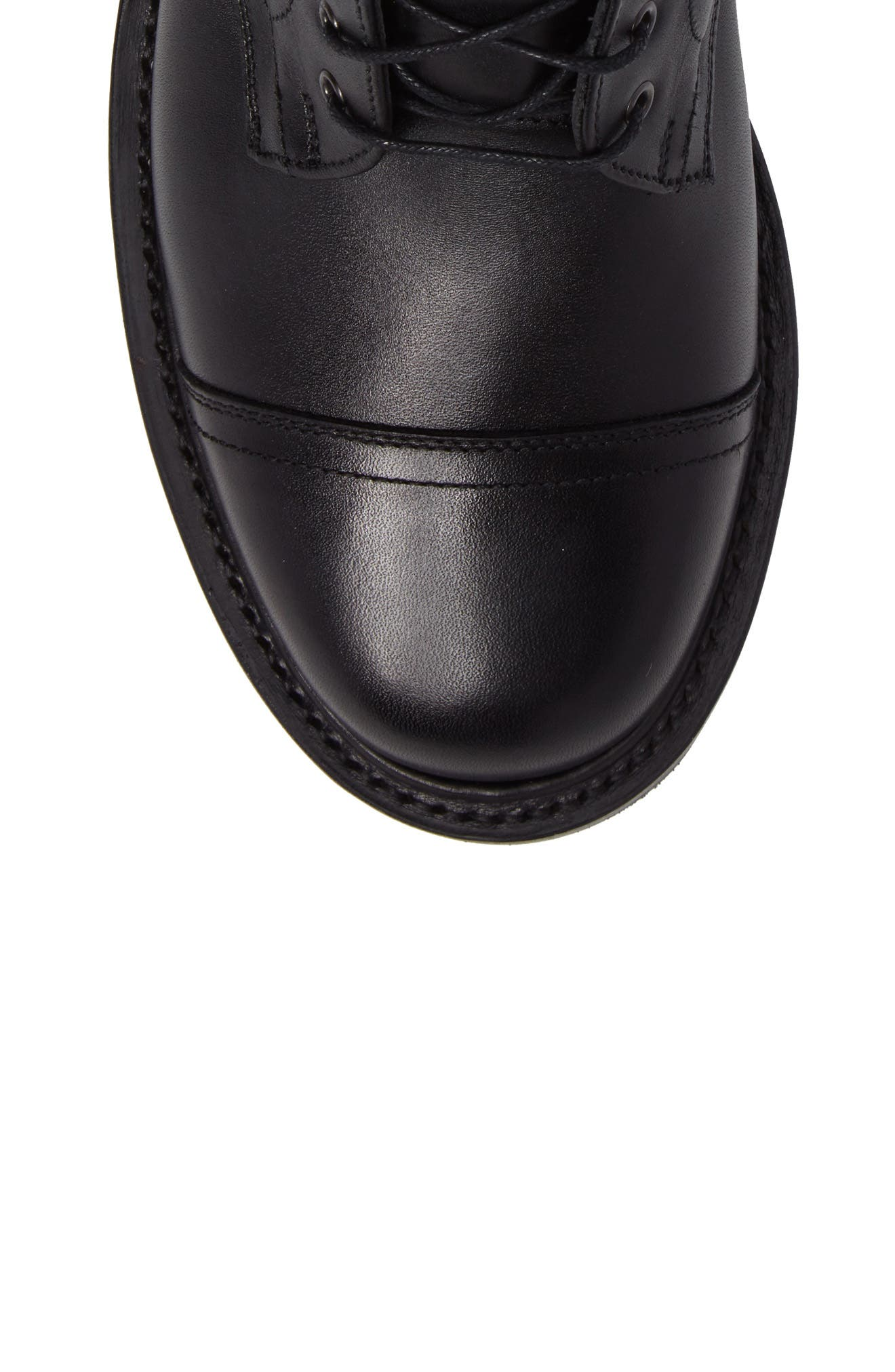 CLARKS<SUP>®</SUP>,                             Clarks Craftsmaster III Cap Toe Boot,                             Alternate thumbnail 5, color,                             BLACK LEATHER