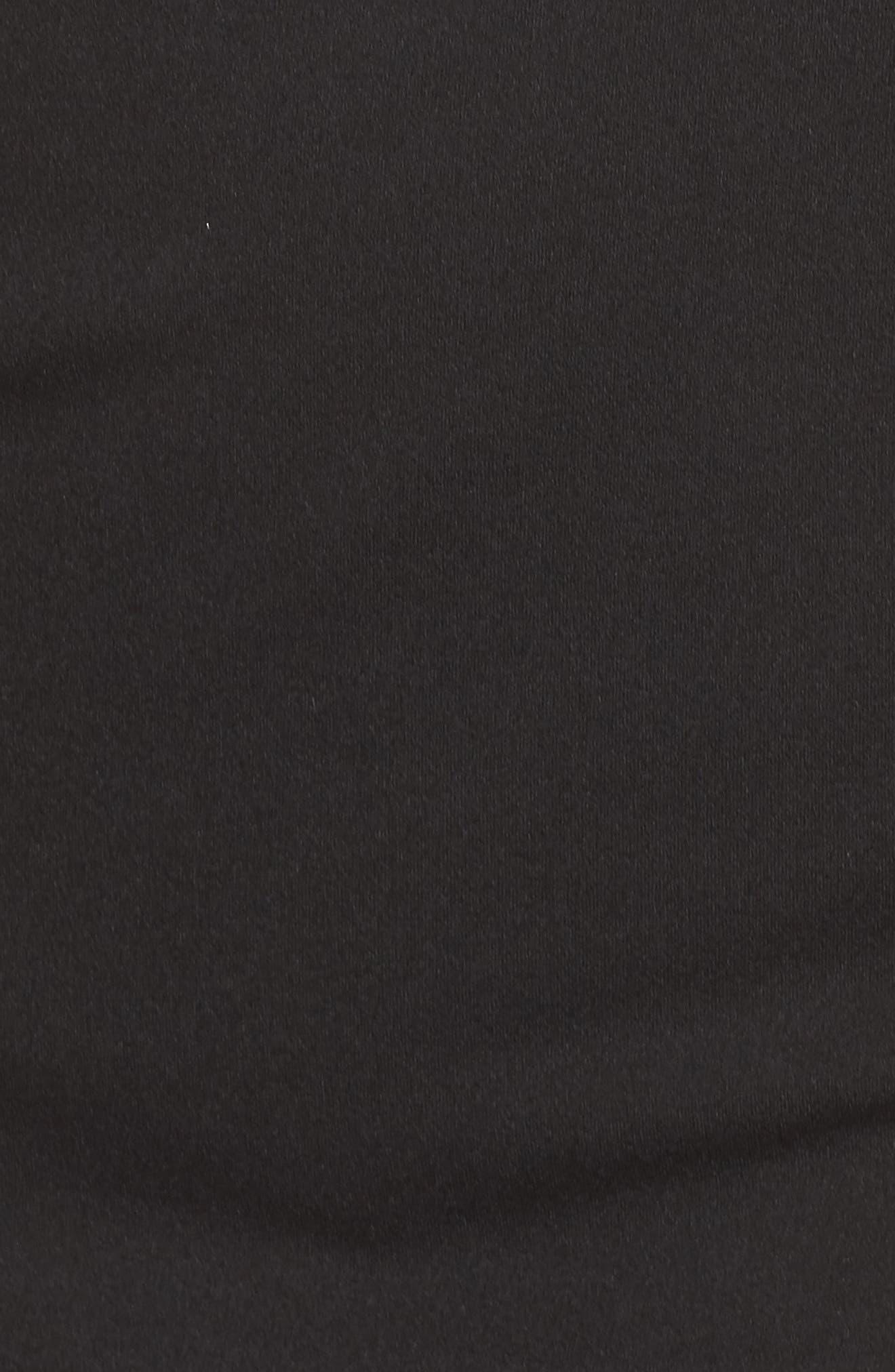 Embellished Crepe Sheath Dress,                             Alternate thumbnail 5, color,                             002