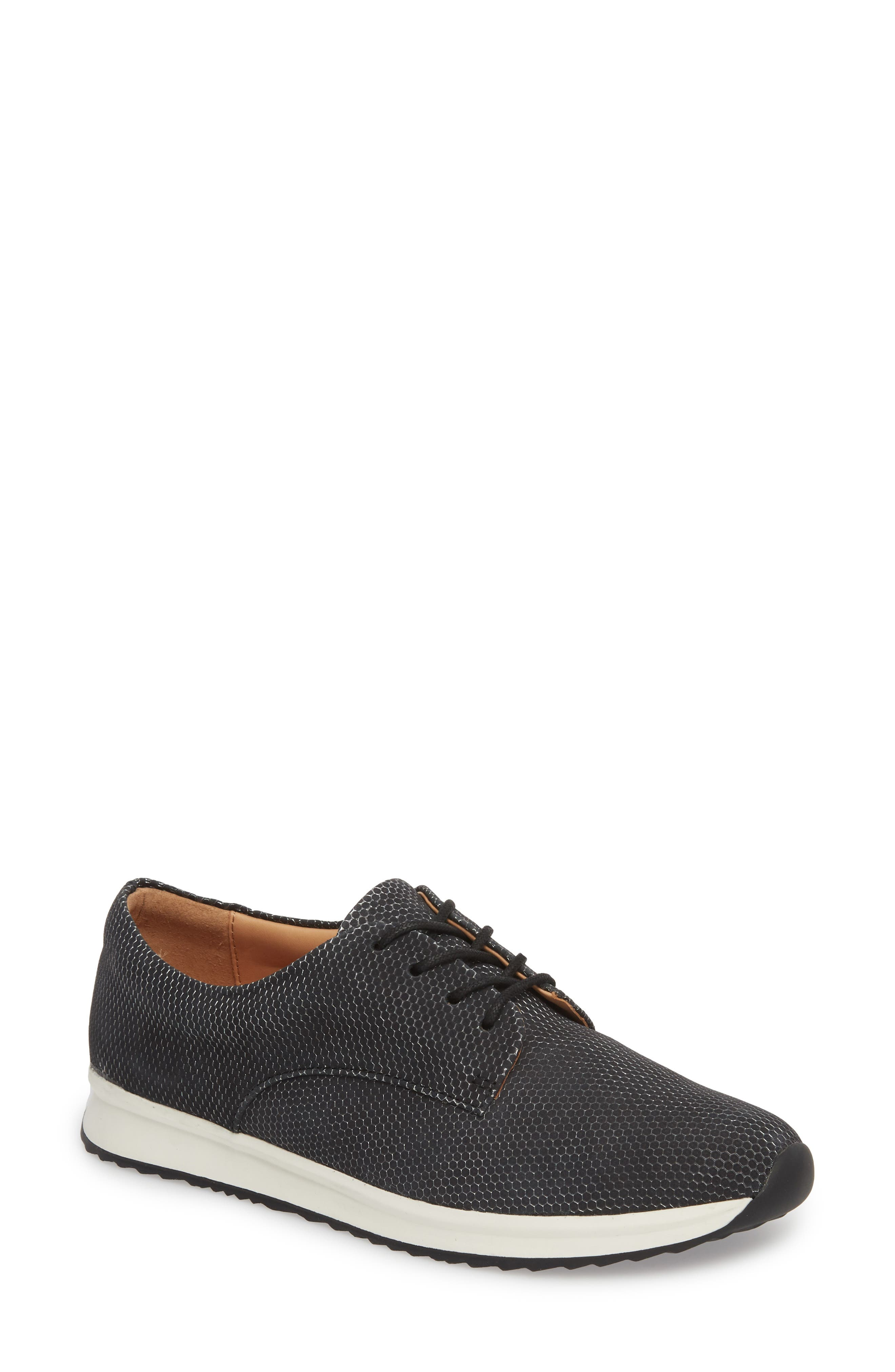 ROLLIE Sport Derby in Charcoal Honeycomb Leather