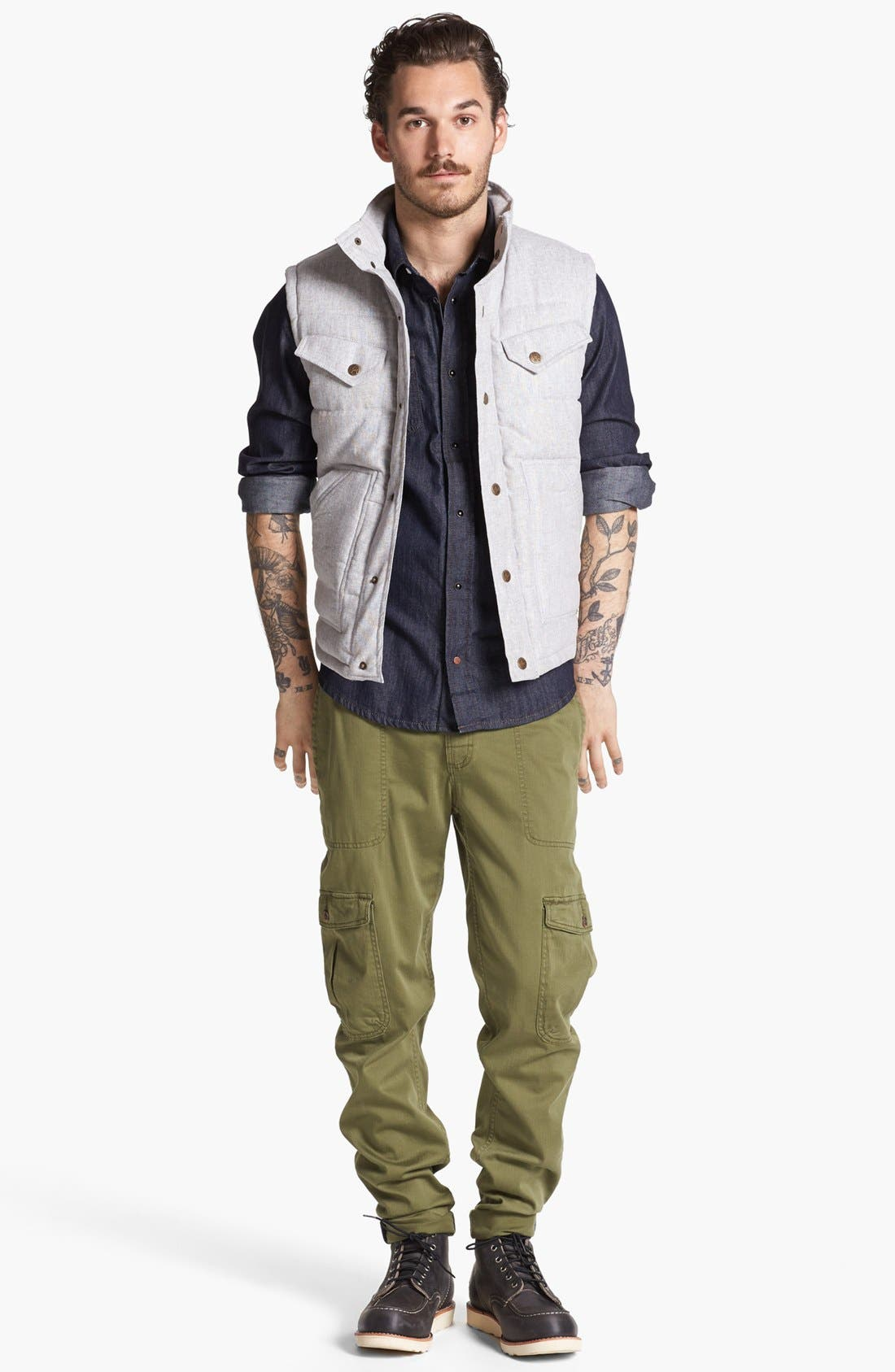 Quilted Vest,                             Alternate thumbnail 2, color,                             050