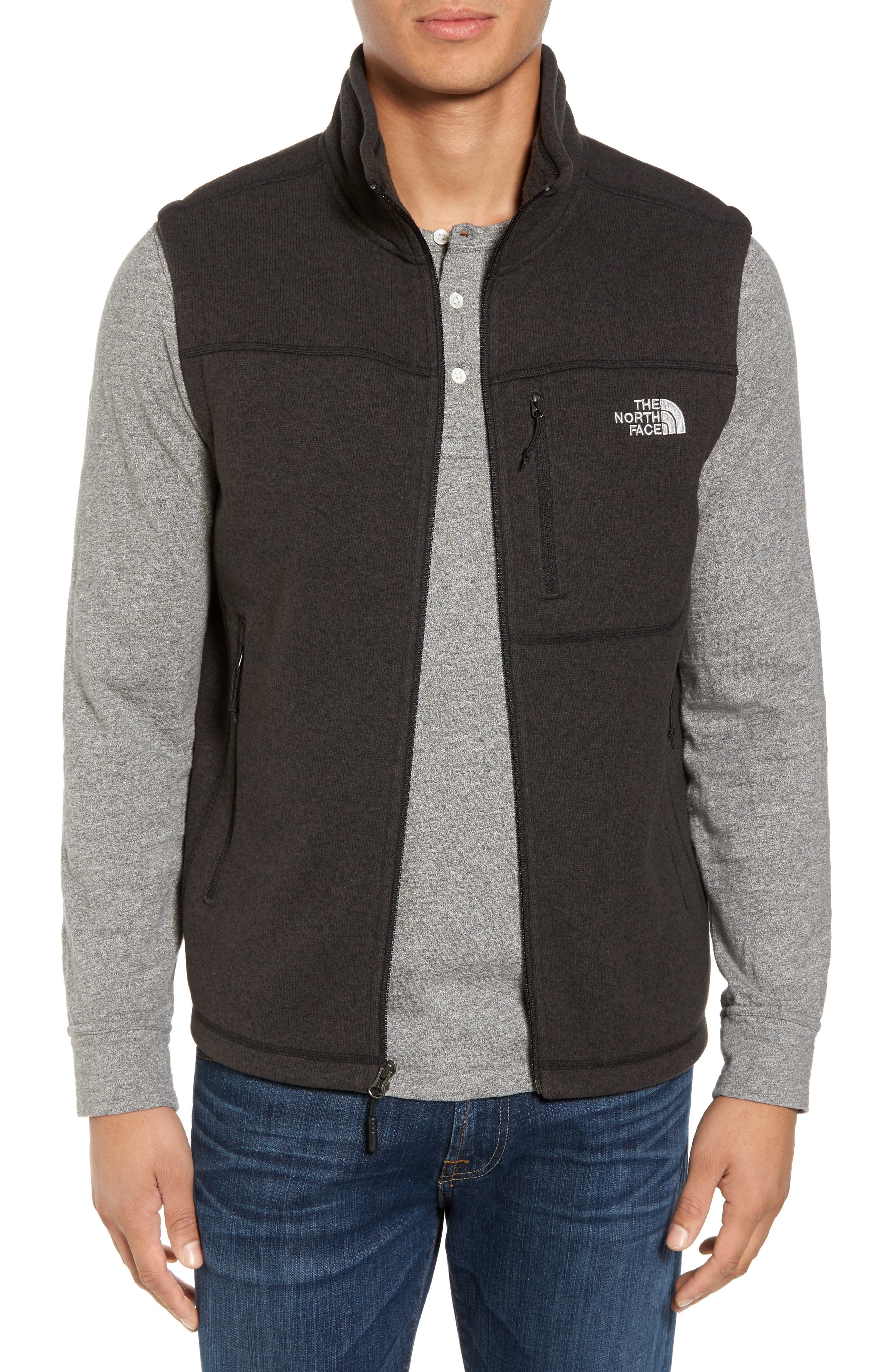 Gordon Lyons Zip Fleece Vest,                             Main thumbnail 1, color,
