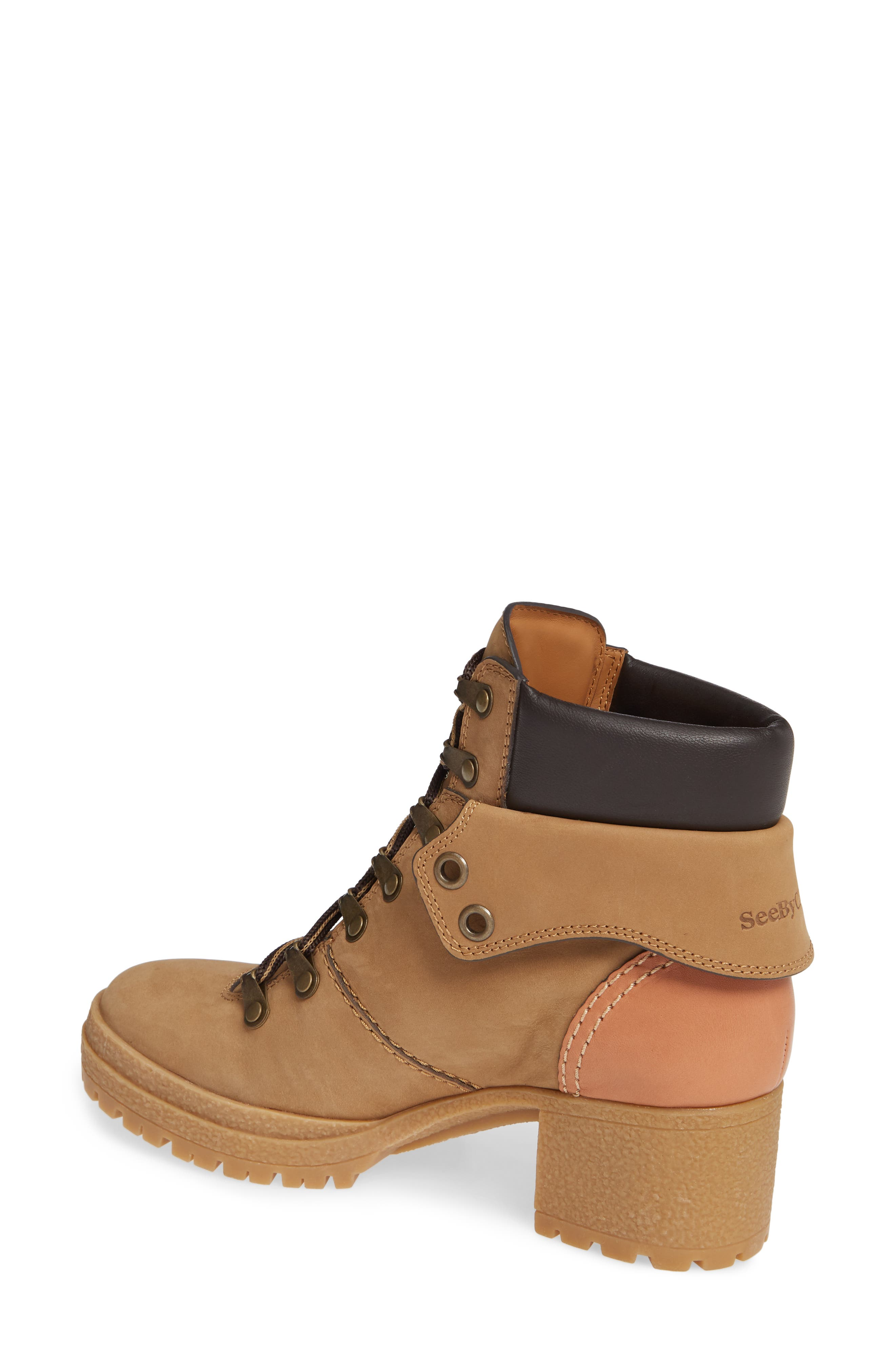 Eileen Lace-Up Boot,                             Alternate thumbnail 2, color,                             250