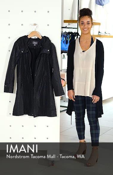 Pleated Collar Raincoat, sales video thumbnail
