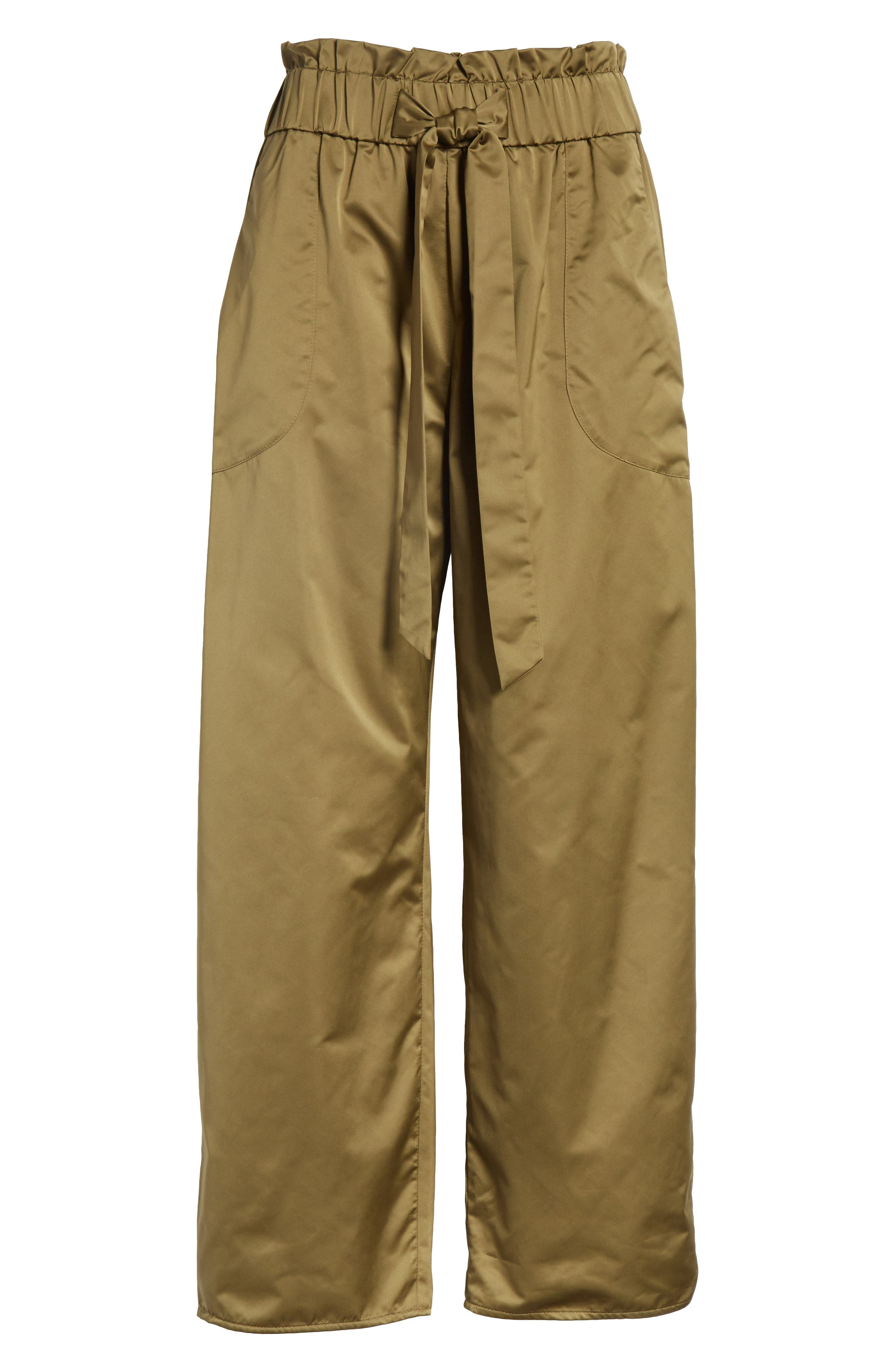Kori Paperbag Waist Pants,                             Alternate thumbnail 6, color,