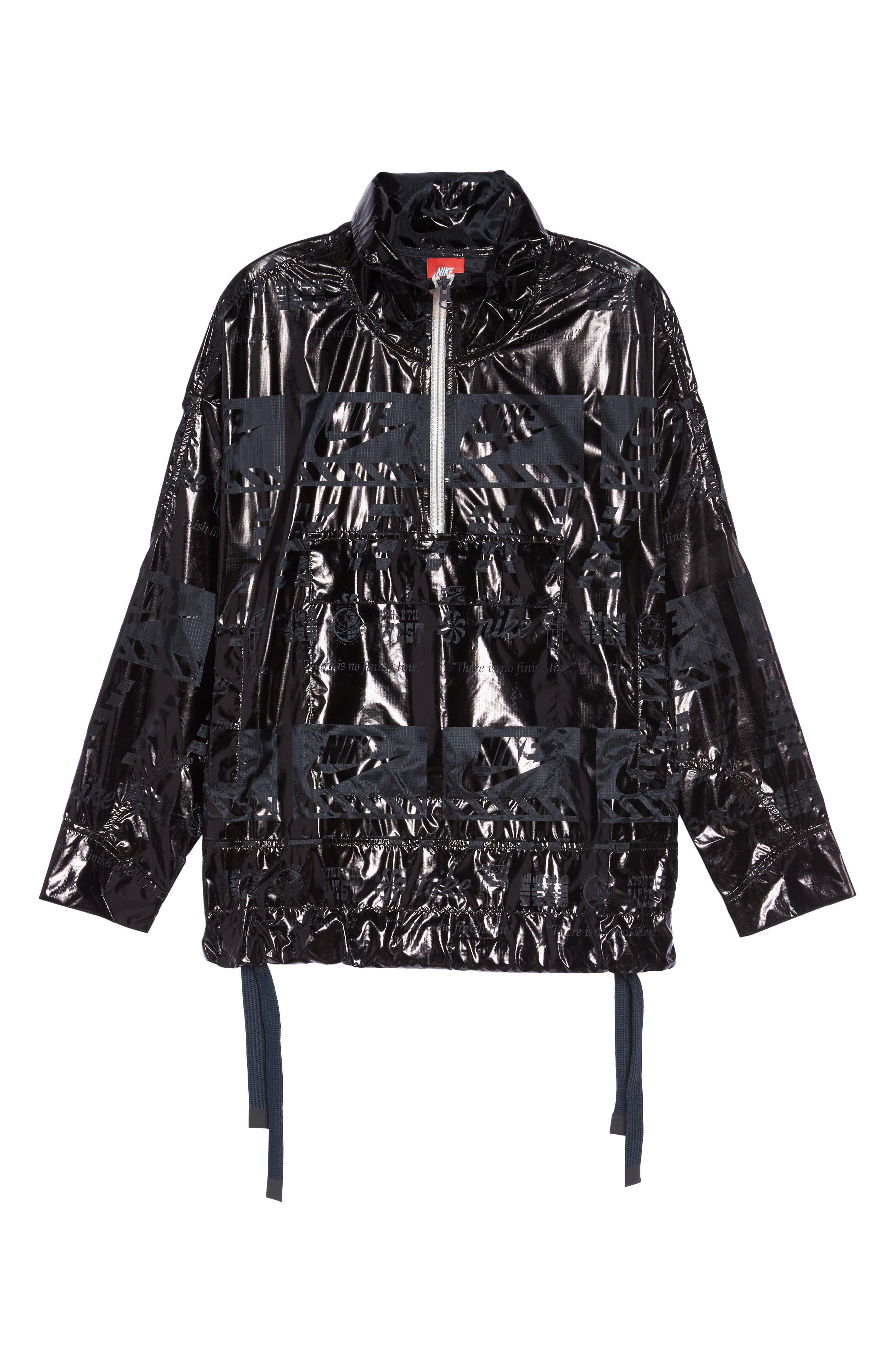 Sportswear Metallic Half Zip Jacket,                             Alternate thumbnail 12, color,