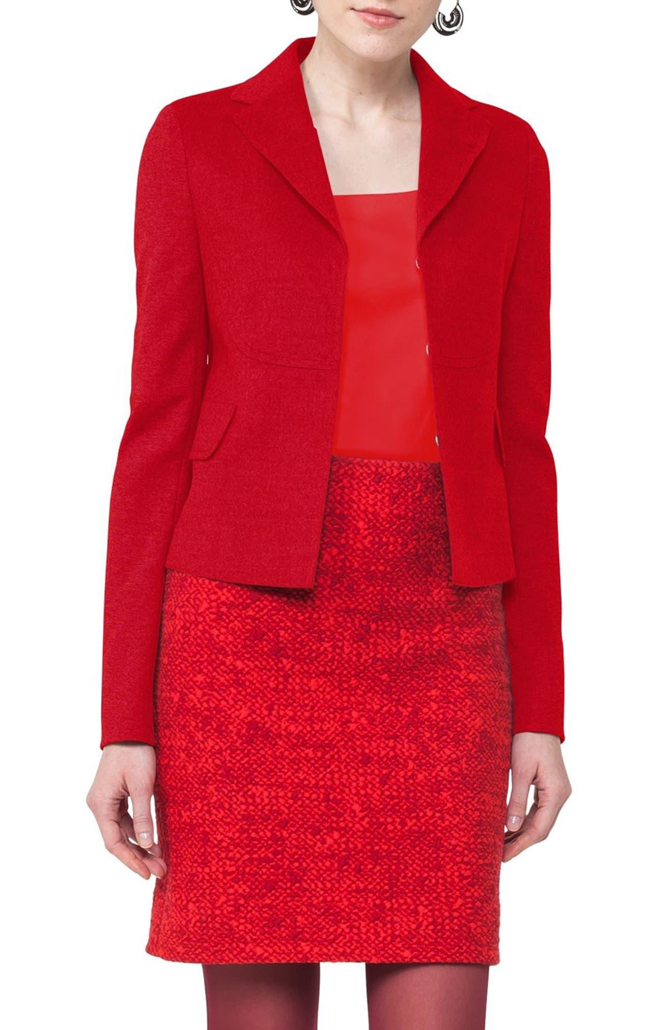 Wool Blazer,                         Main,                         color, 600