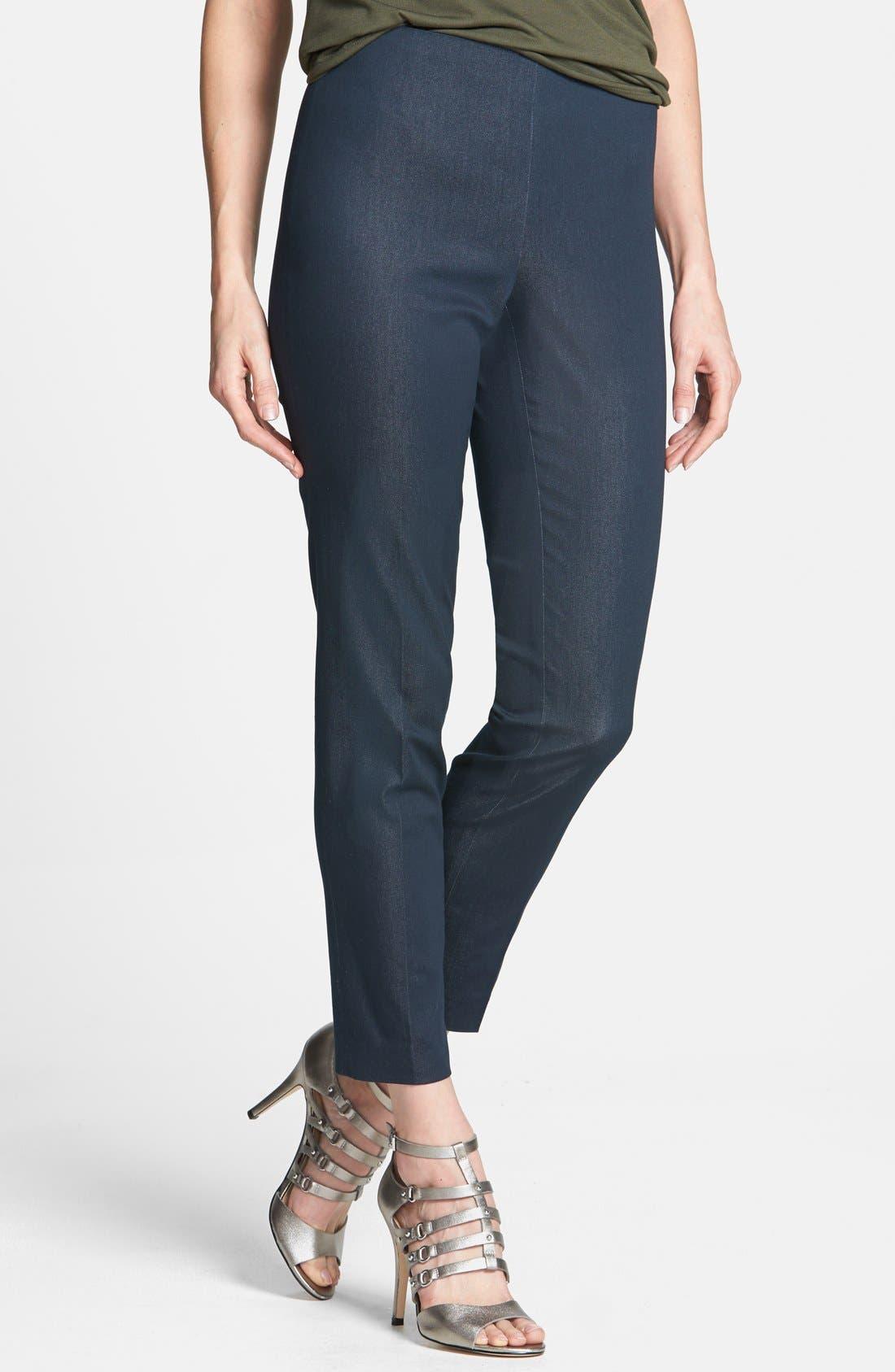Side Zip Double Weave Pants,                             Main thumbnail 11, color,