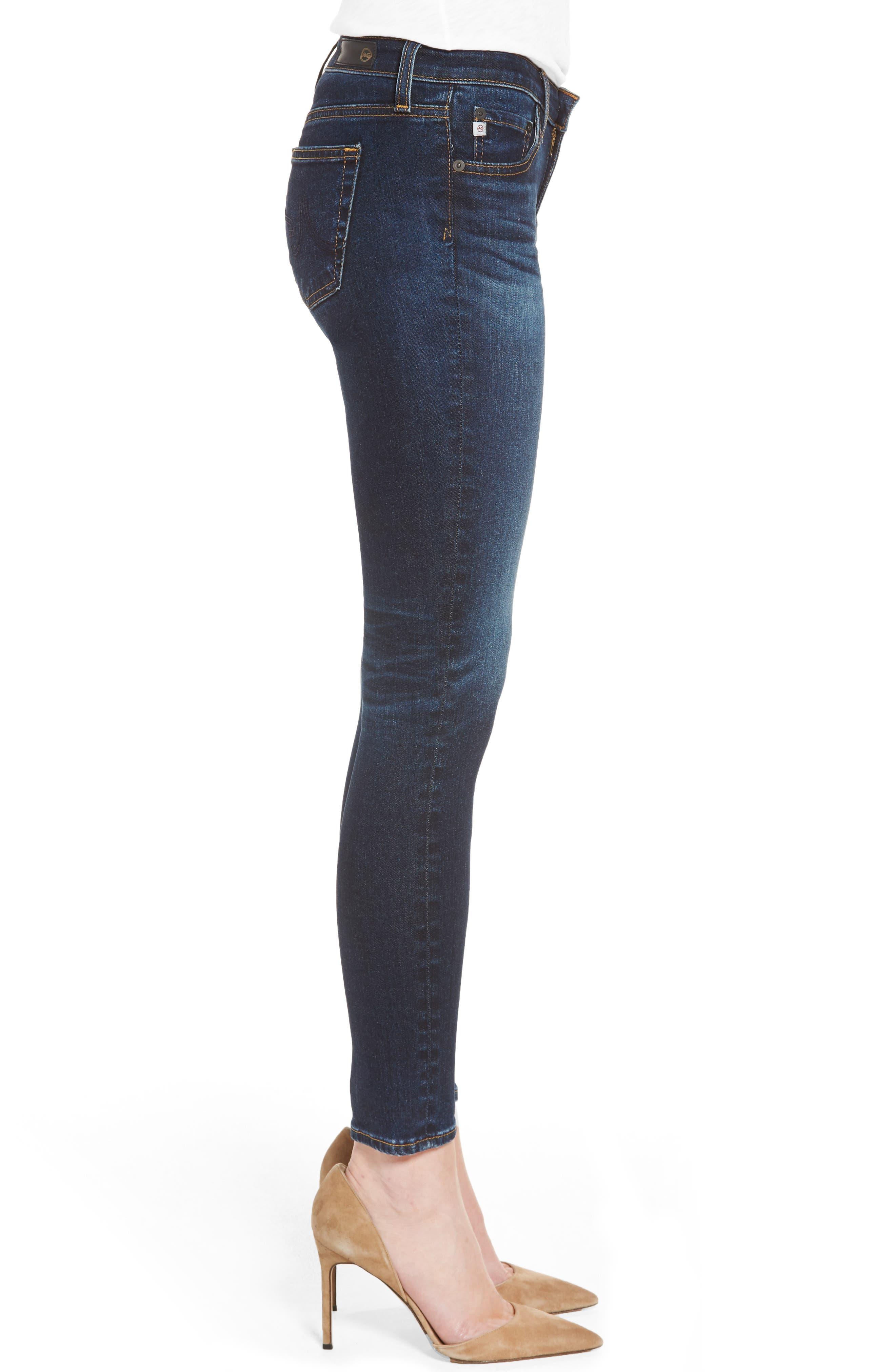 AG,                             The Legging Ankle Super Skinny Jeans,                             Alternate thumbnail 3, color,                             04 YEARS RAPID
