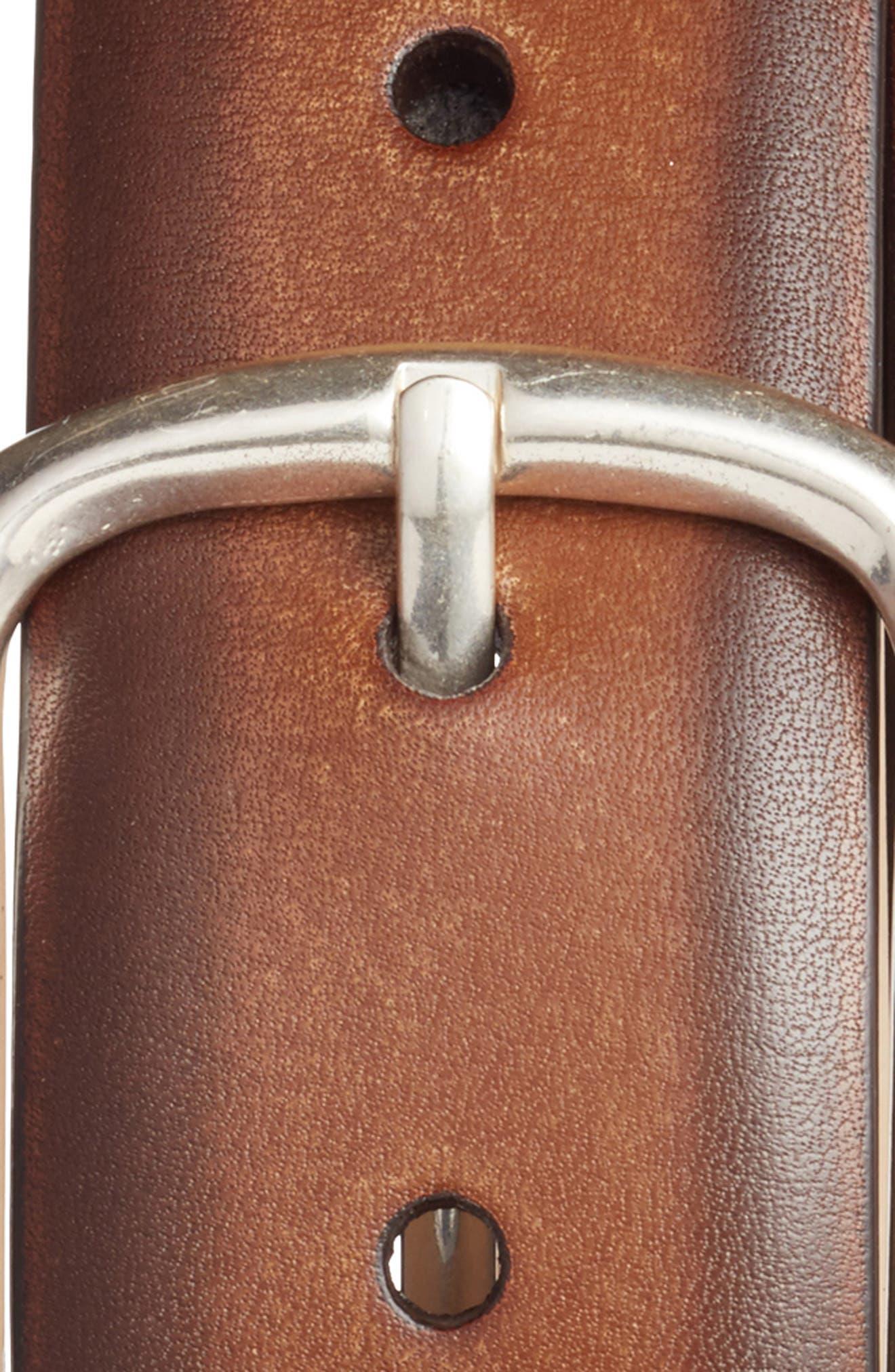 Palma Leather Belt,                             Alternate thumbnail 3, color,