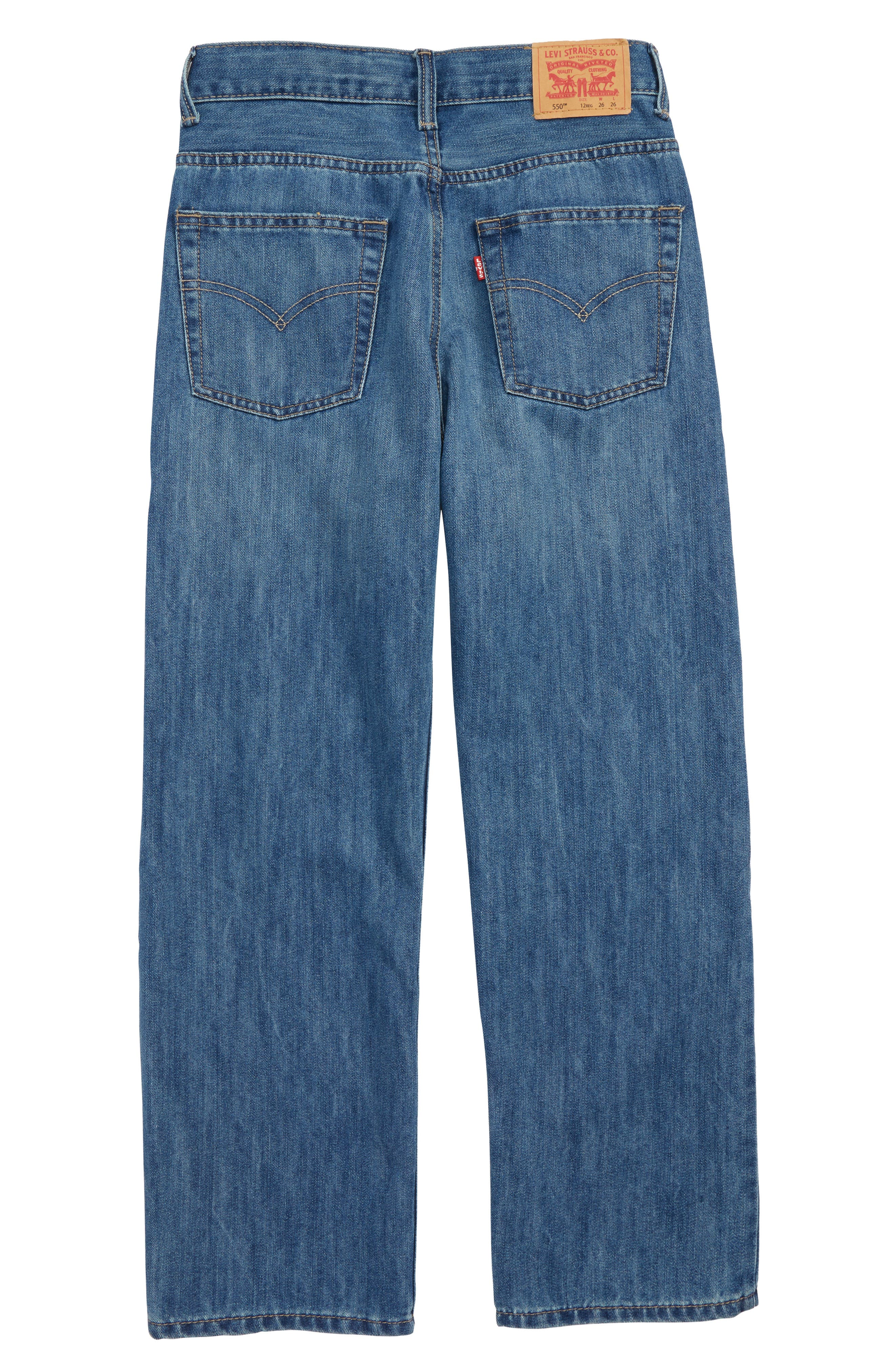 550<sup>™</sup> Relaxed Fit Jeans,                             Alternate thumbnail 2, color,                             426