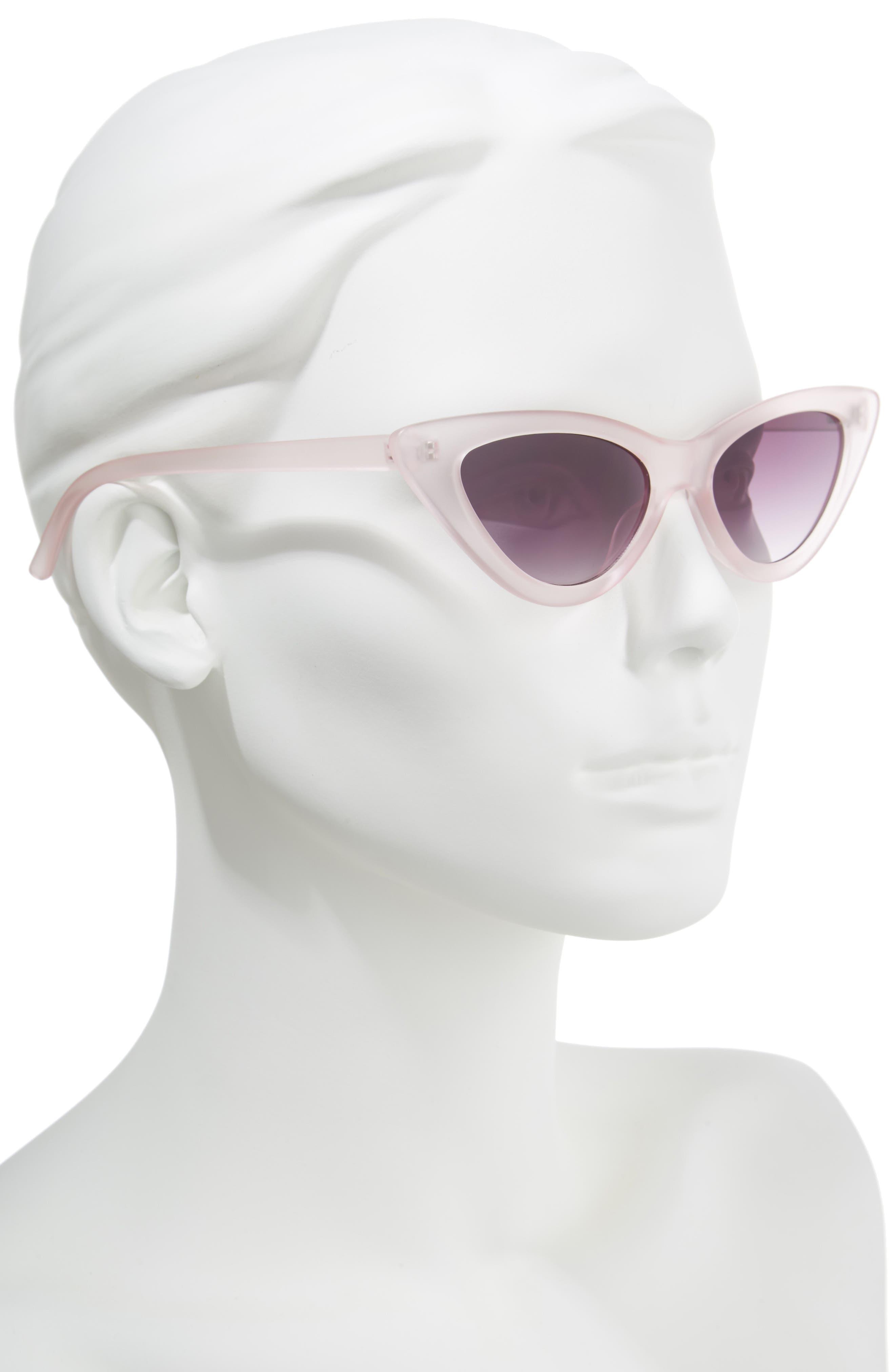 62mm Cat Eye Sunglasses,                             Alternate thumbnail 6, color,