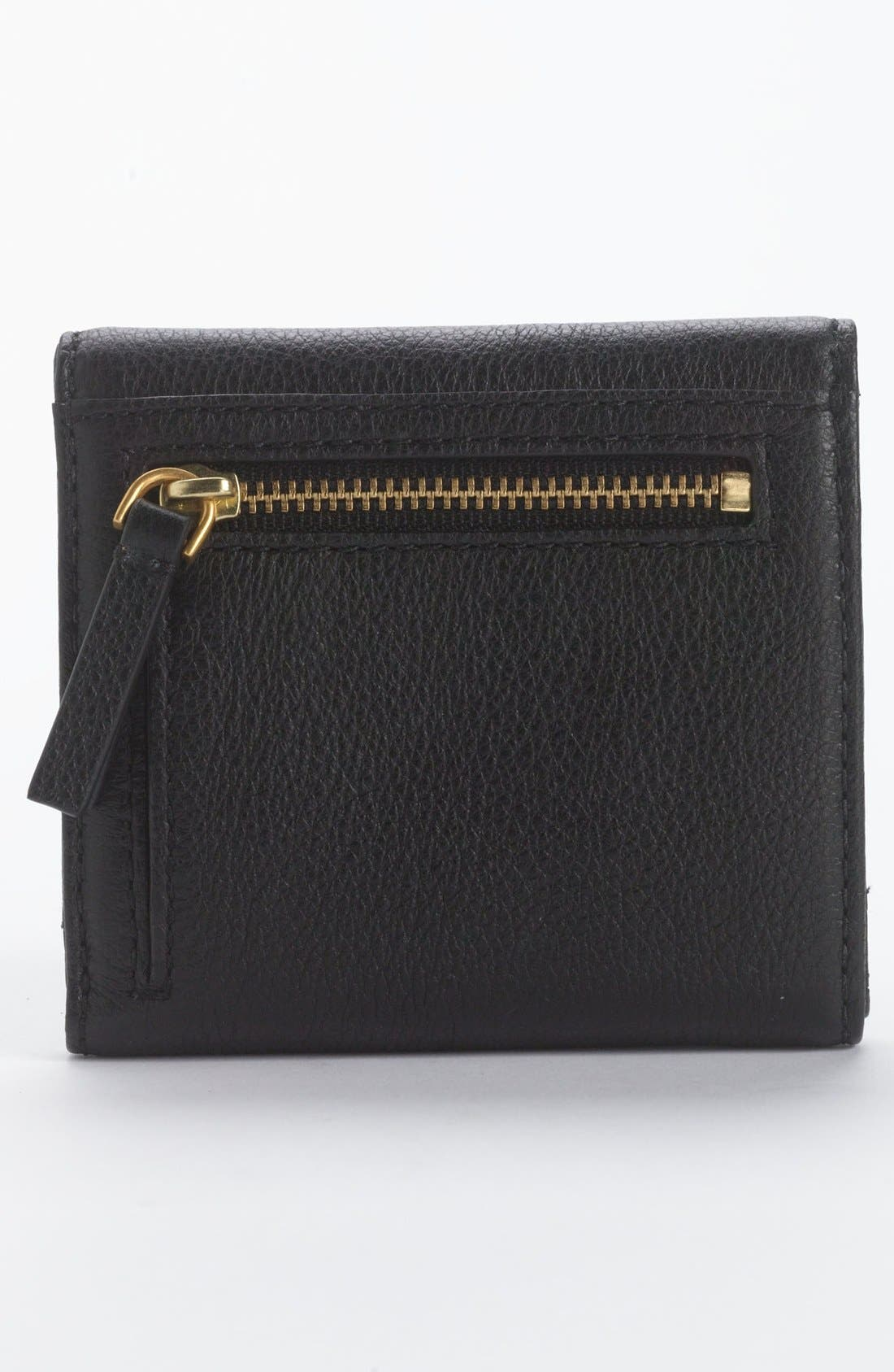 MARC BY MARC JACOBS Bifold French Wallet,                             Alternate thumbnail 2, color,                             001