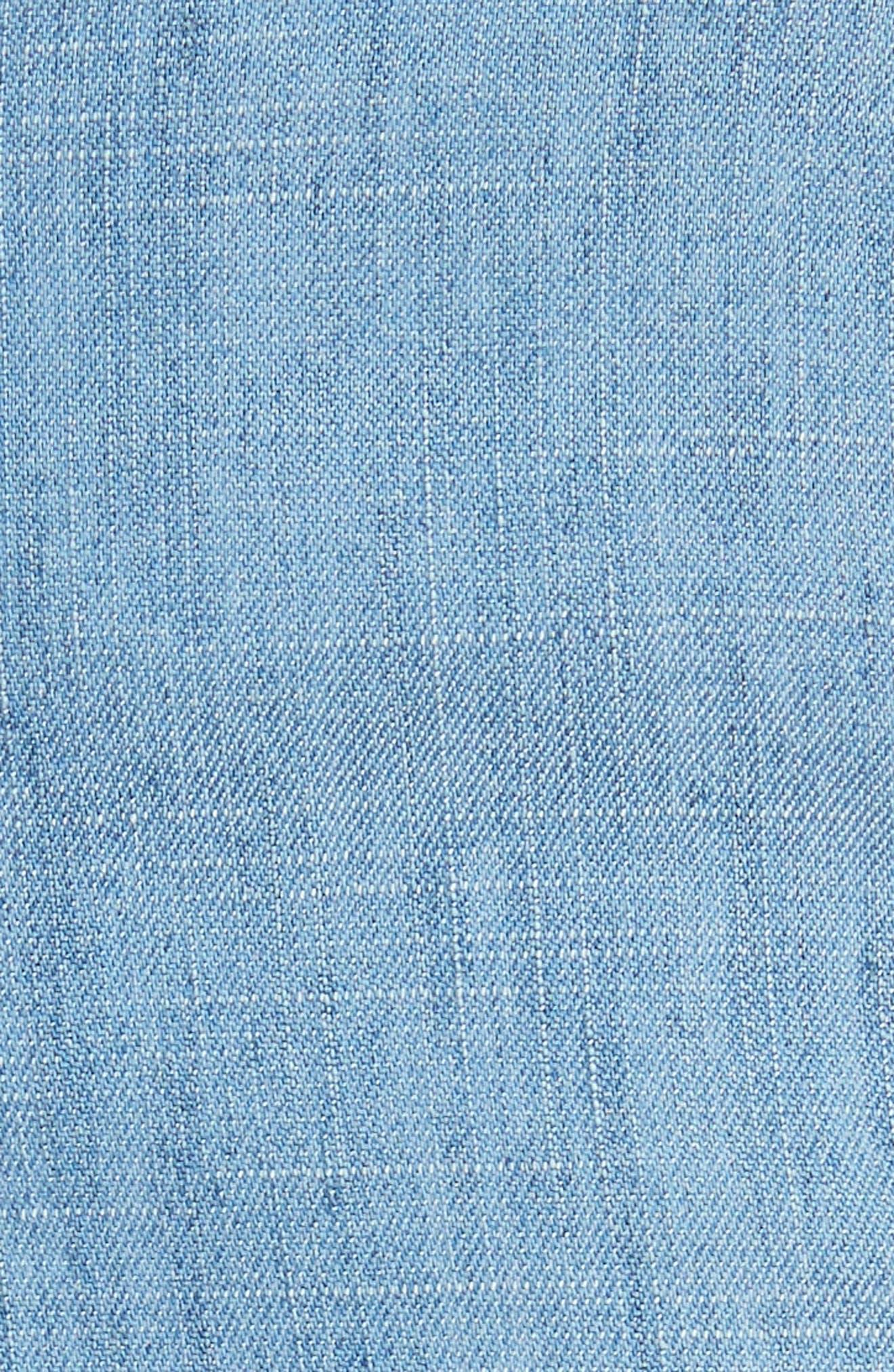 Cady Lyocell Blend Shorts,                             Alternate thumbnail 5, color,                             485