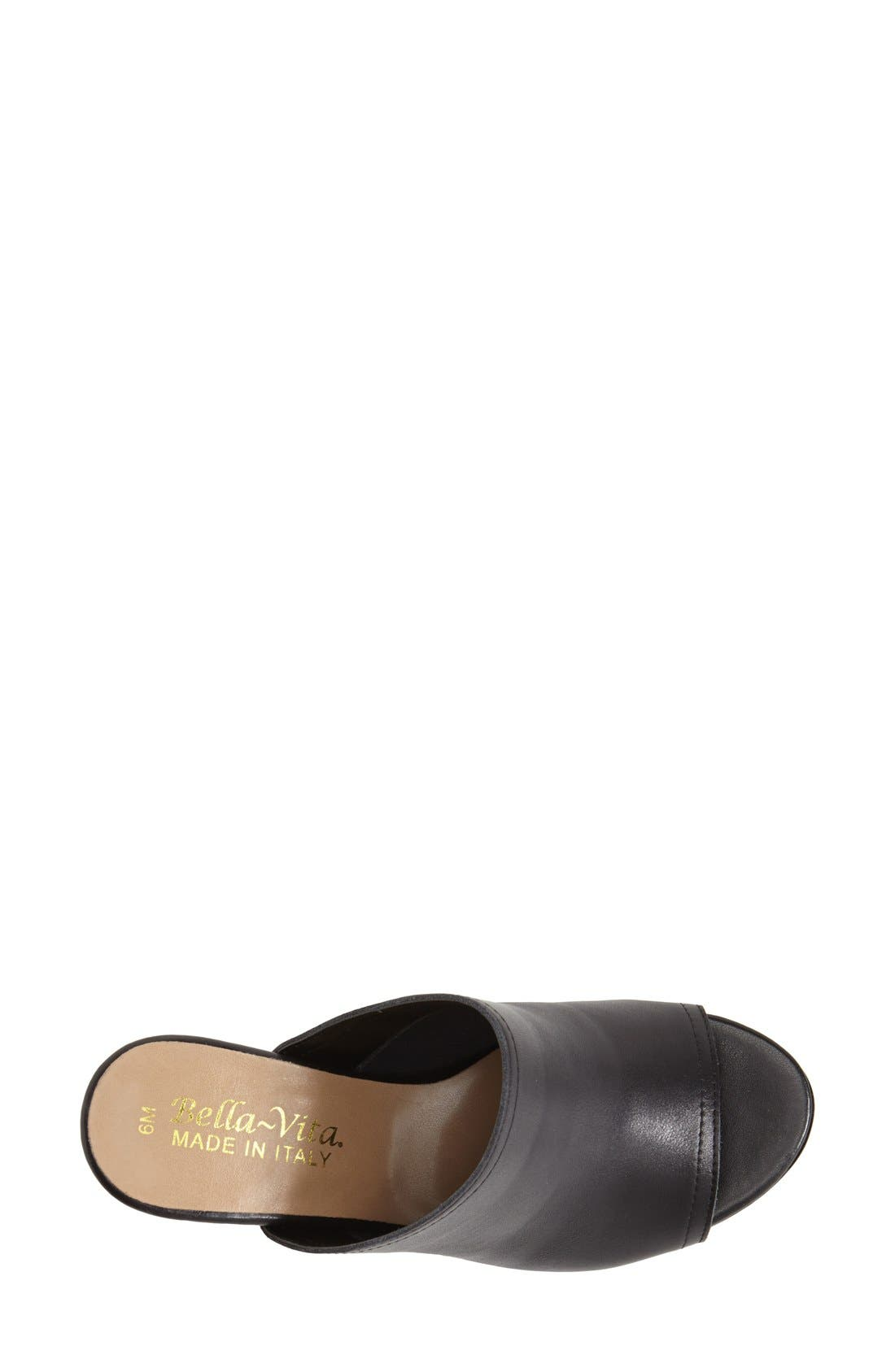 'Arno' Leather Mule,                             Alternate thumbnail 6, color,