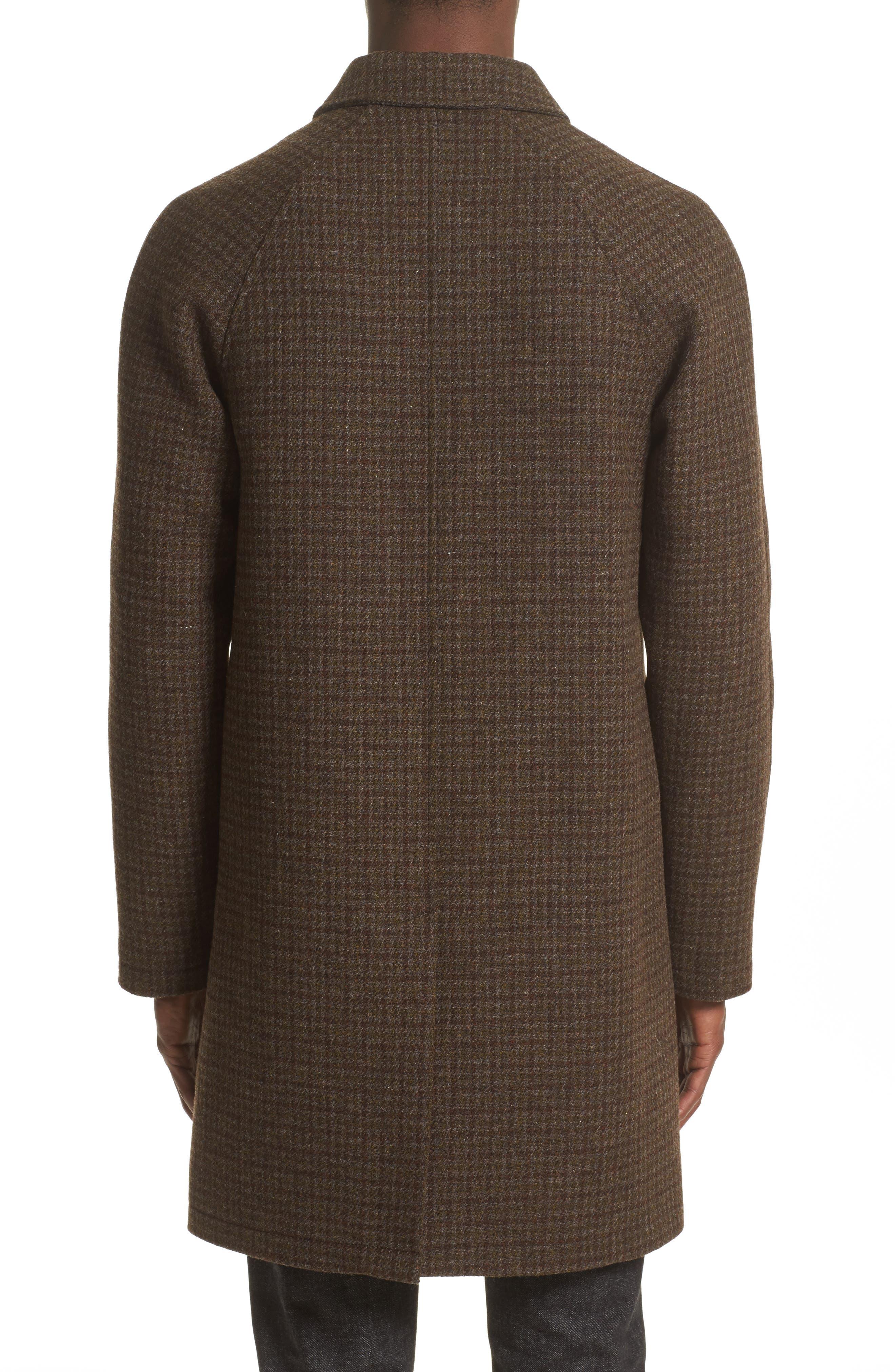 Tweed Overcoat,                             Alternate thumbnail 2, color,